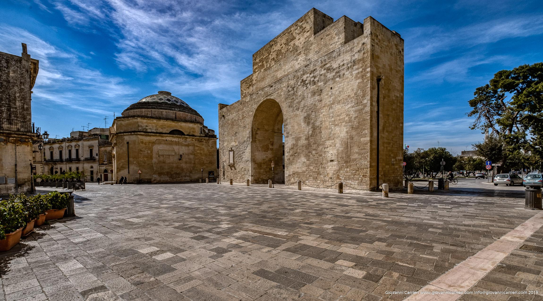 L'arco di trionfo di Lecce, Porta Napoli