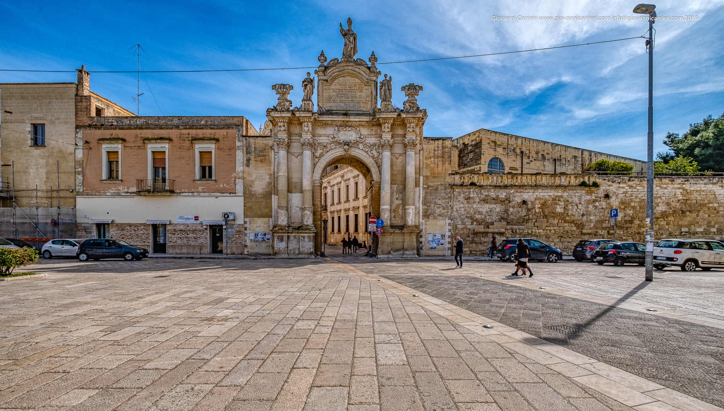 Porta Rudiae, la più antica delle porte di Lecce