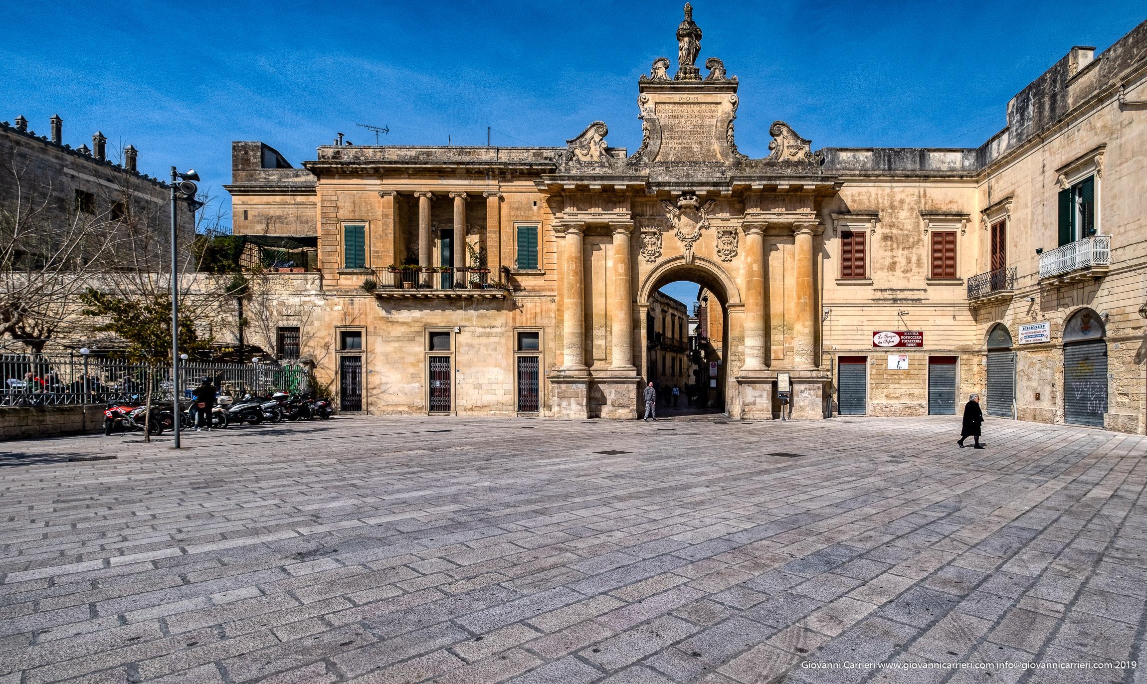 Porta San Biagio, Lecce