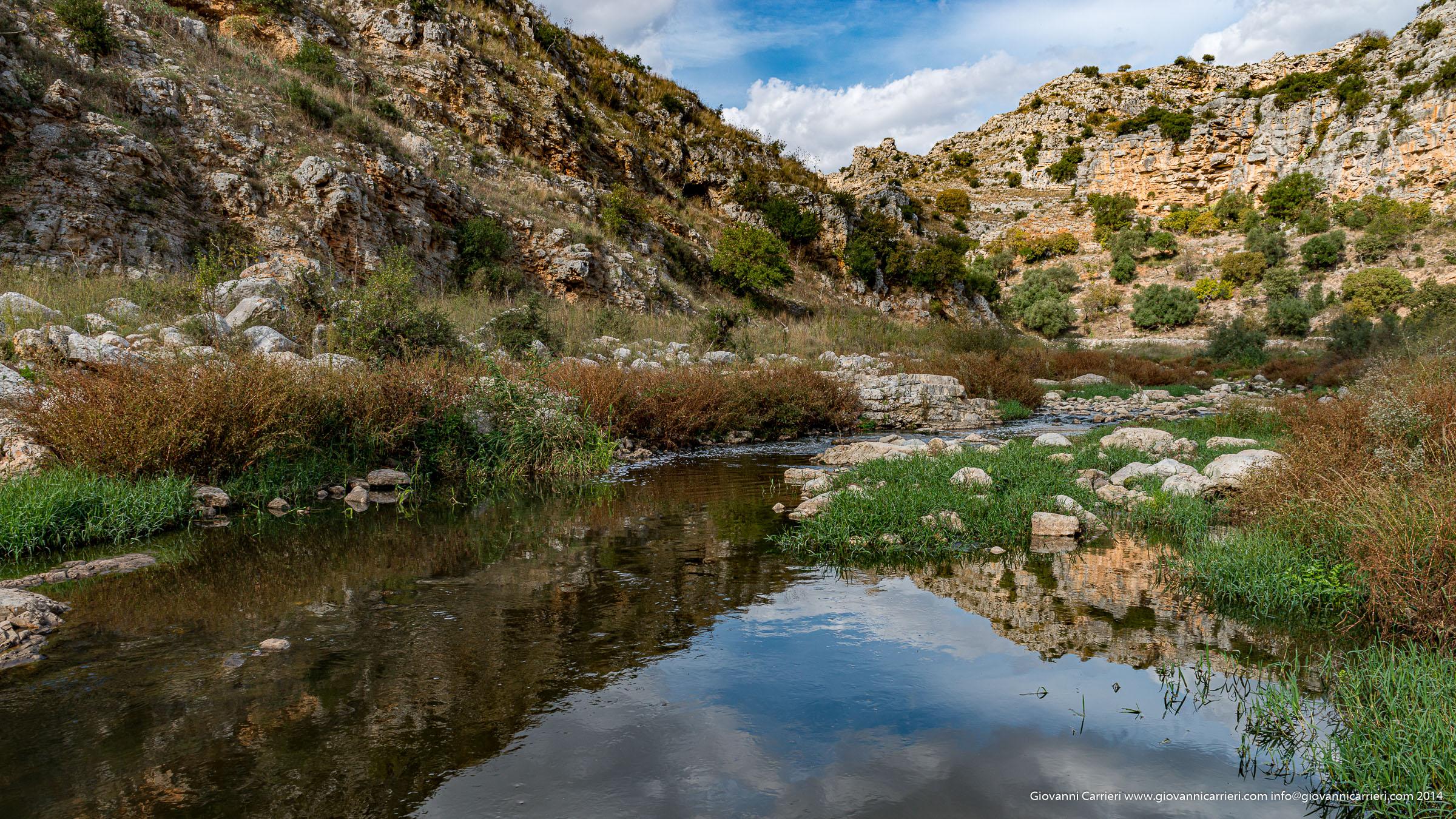 Matera ed il torrente Gravina