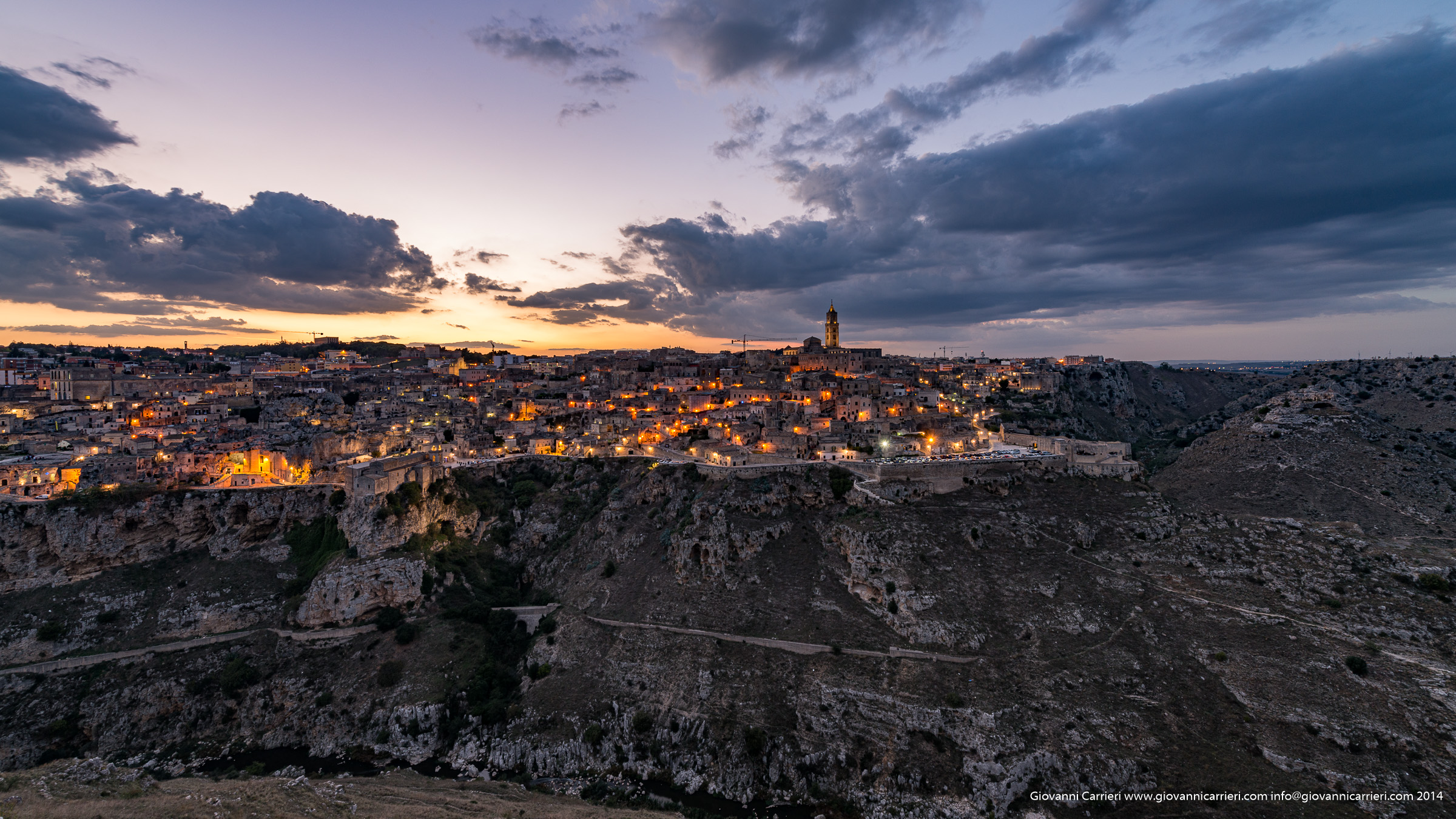 Photographs of Matera
