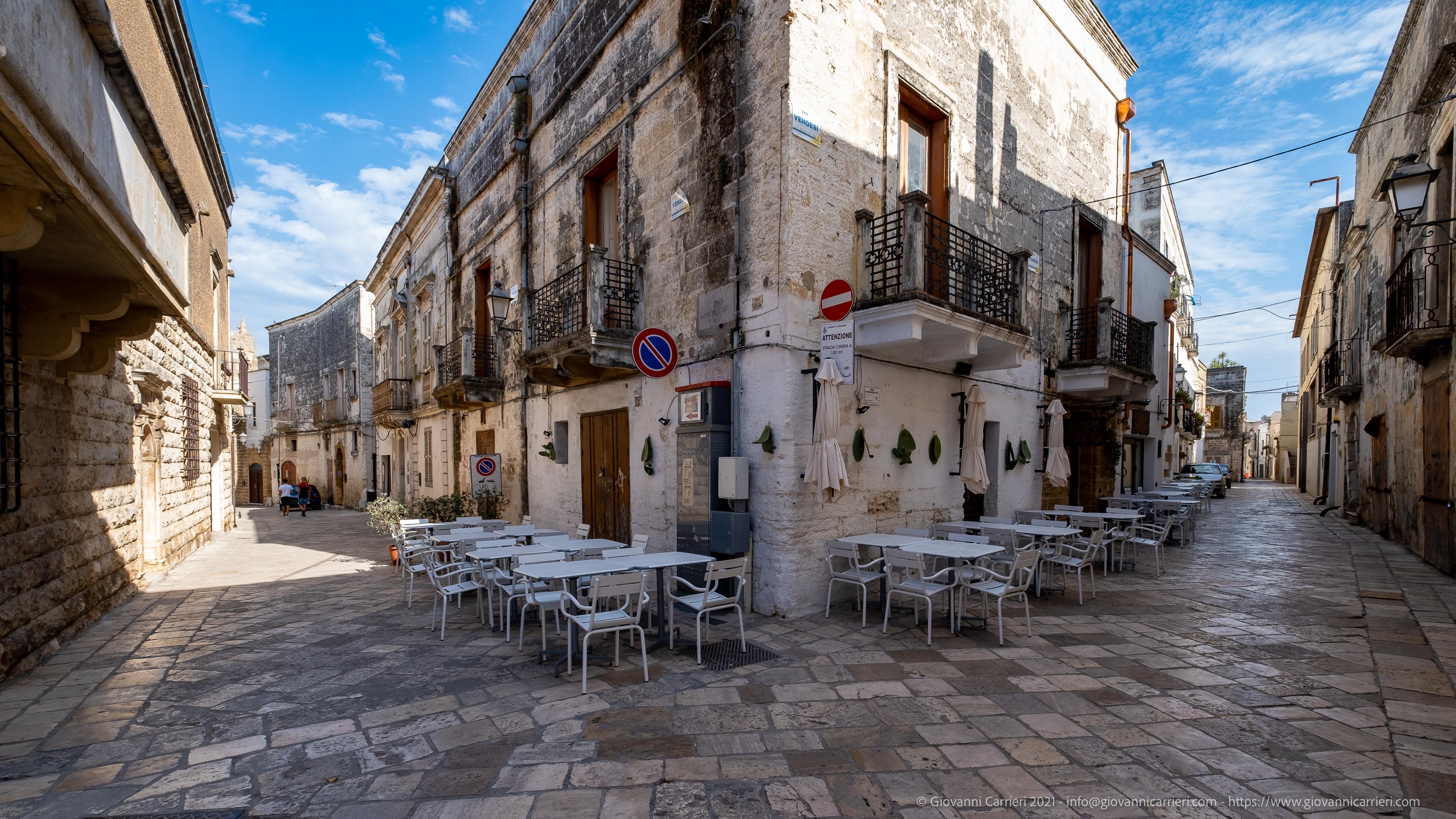 Il centro storico di Mesagne Il centro storico di Mesagne, vista tra via Martiri delle Libertà e via Eugenio Santacesaria