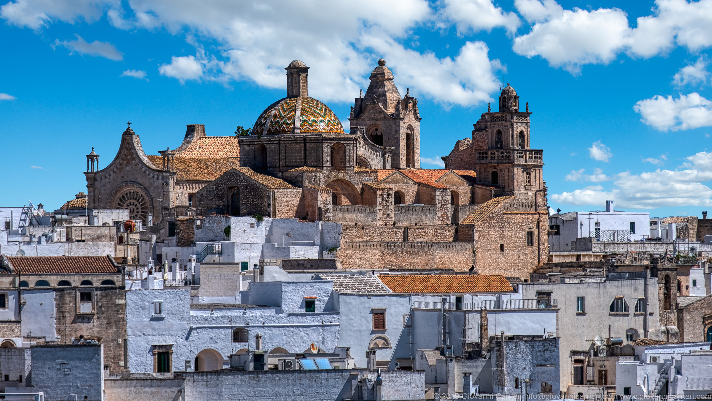 Special view of the Ostuni Cathedral