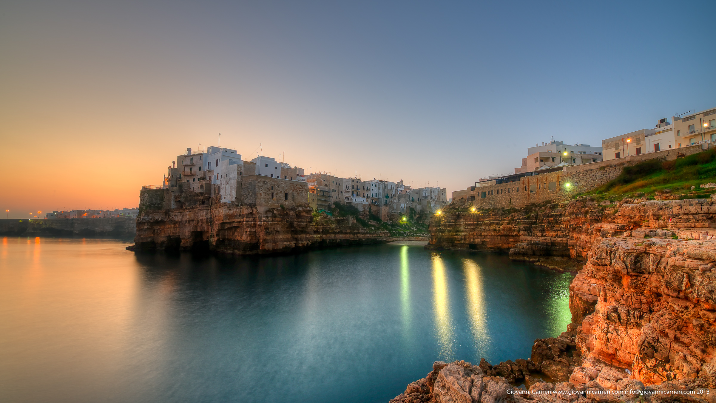 Photographs of Polignano a Mare