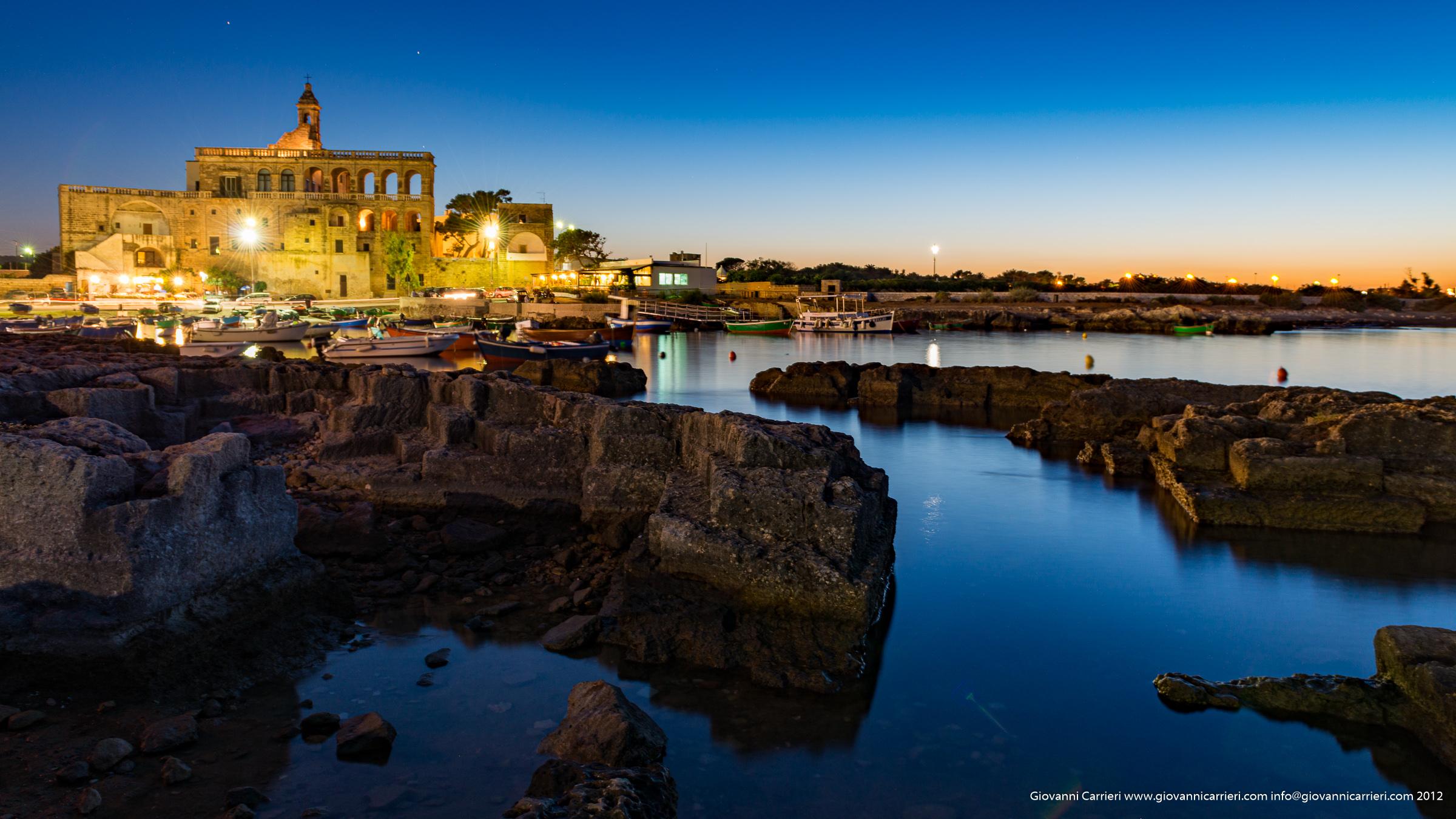 L'Abbazia di San vito al tramonto - Polignano a Mare