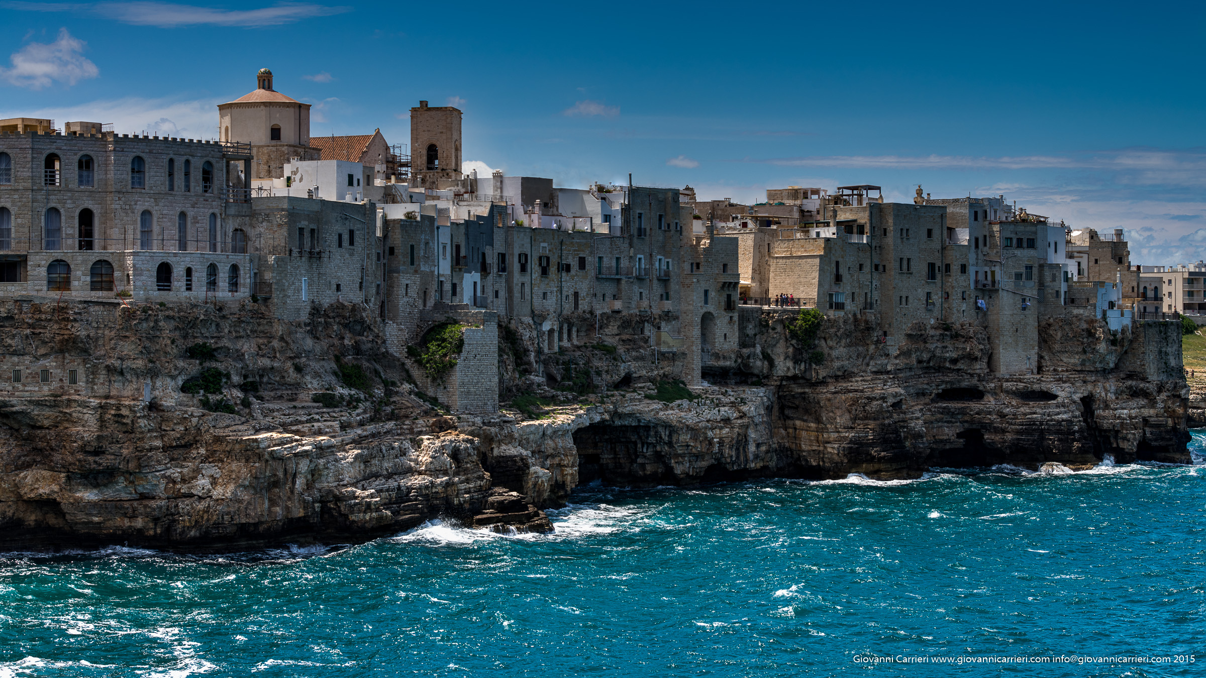 Polignano old city