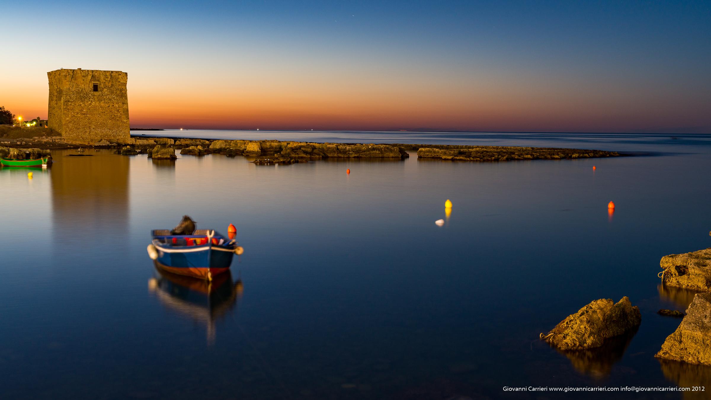 Il tramonto di San Vito, frazione di Polignano a Mare