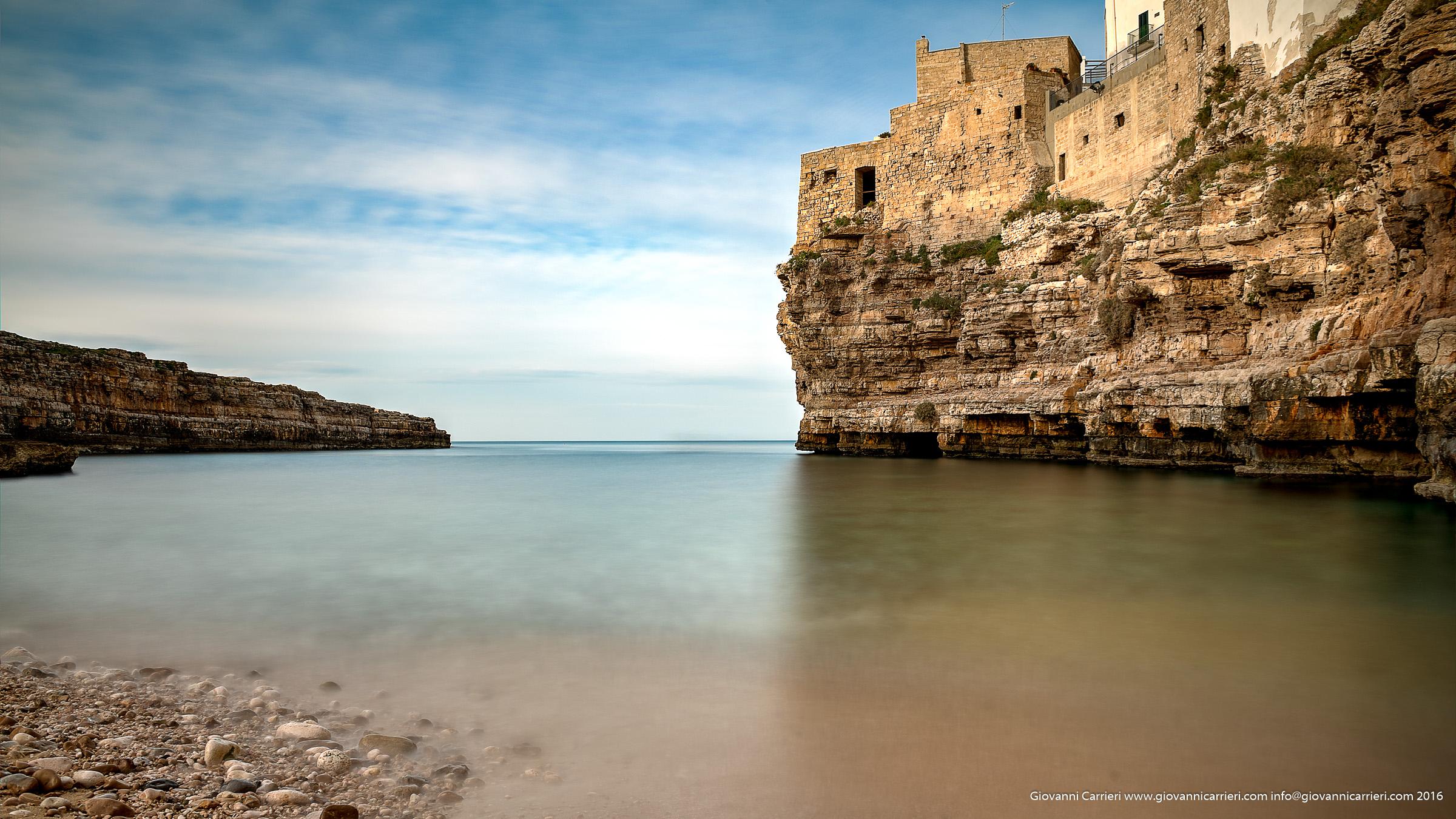 Lama Monachile a Polignano a Mare