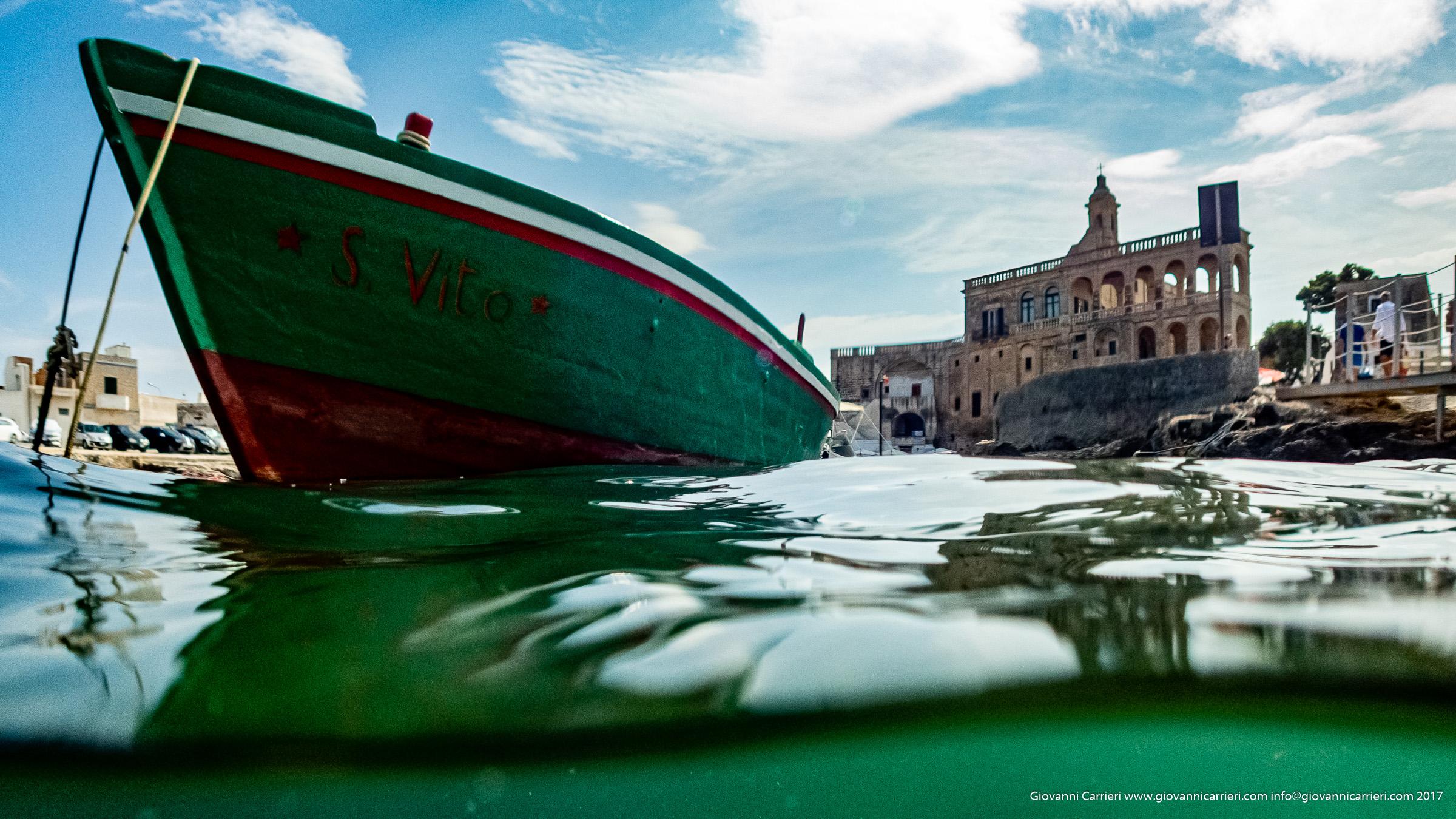 L'abbazia di San Vito Martire nella frazione di Polignano a Mare