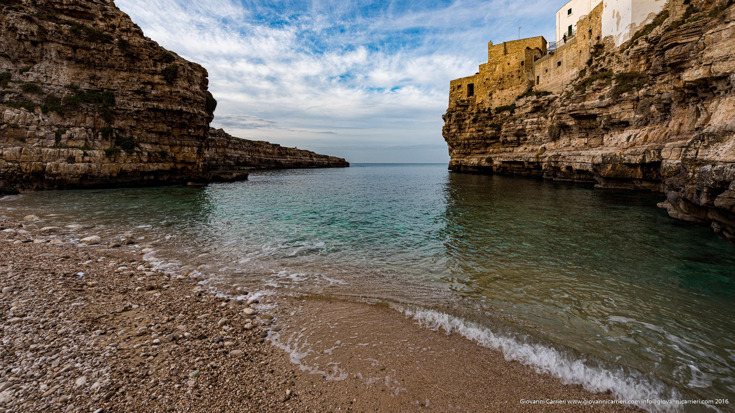 L'arrivo dell'inverno in Puglia, Polignano a Mare