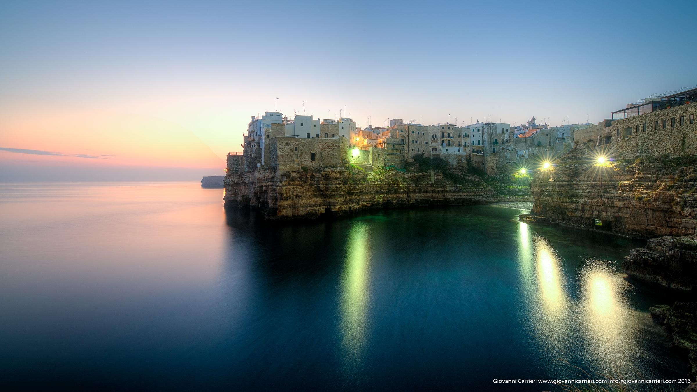 Qualche istante prima dell'alba - Polignano a Mare