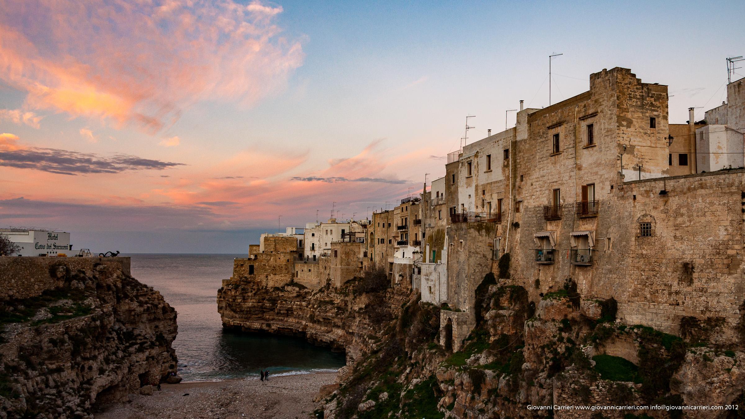Il tramonto di primavera - Polignano a Mare