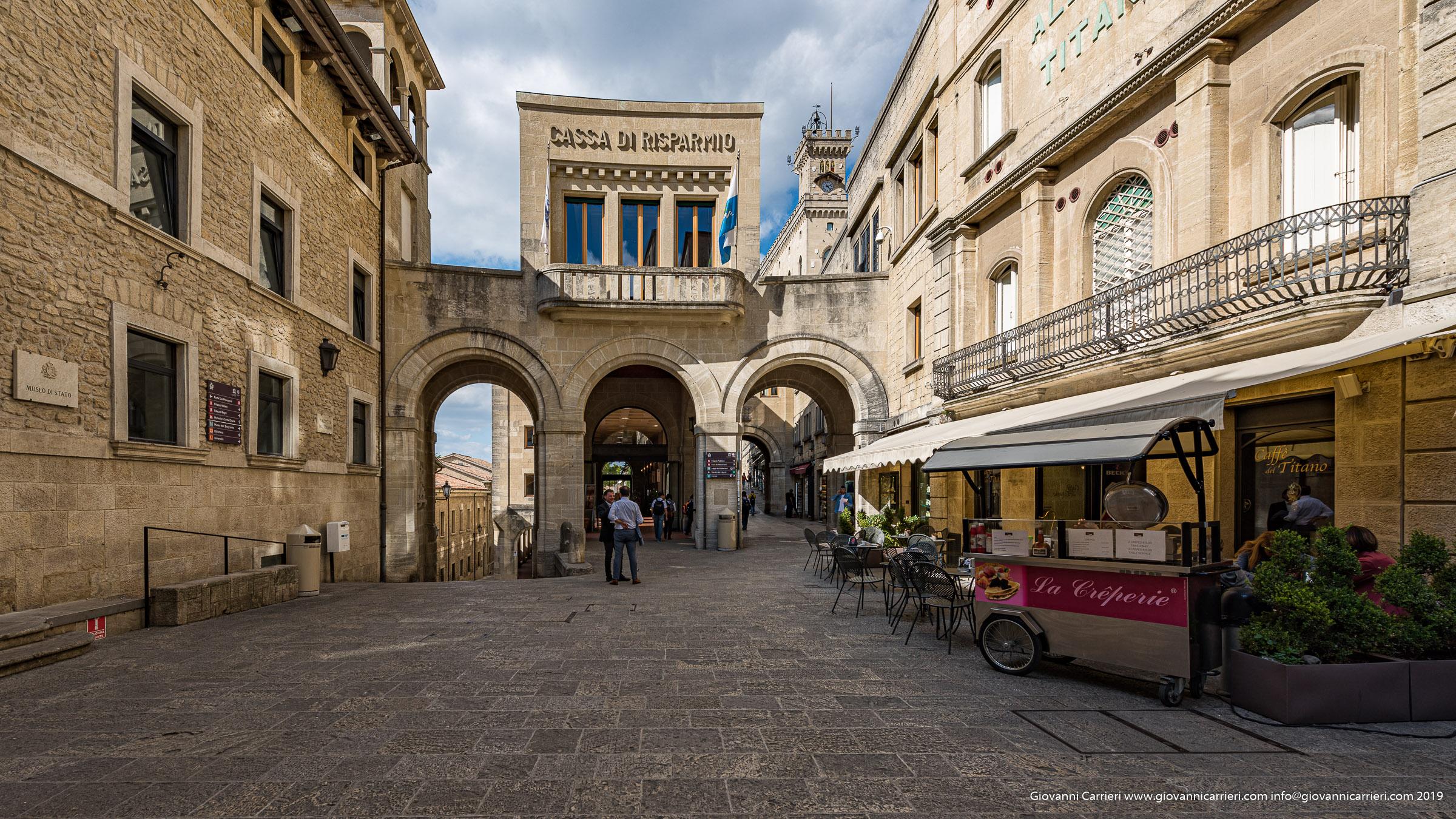 Il centro storico di San Marino