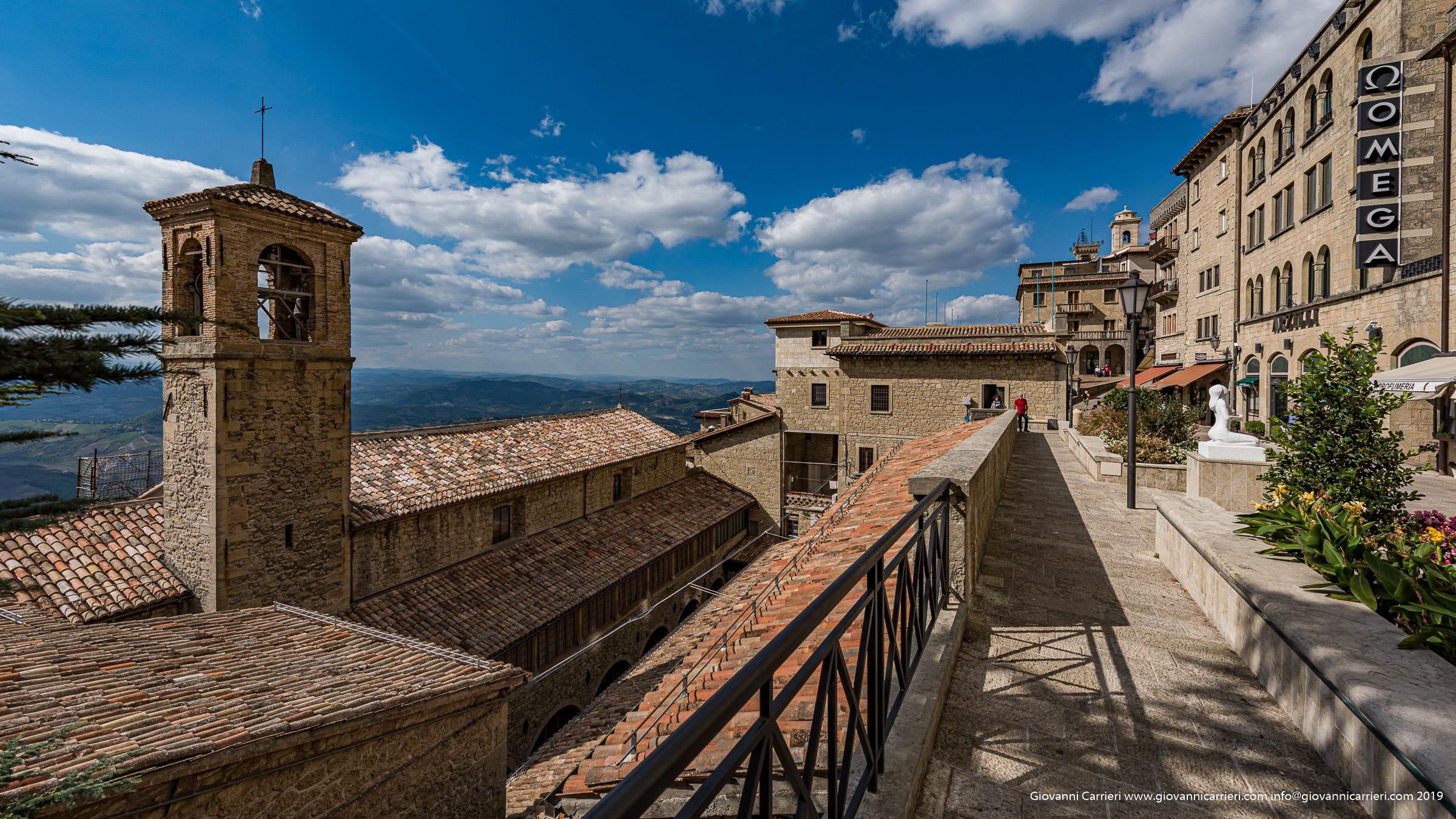 Il panorama di San Marino