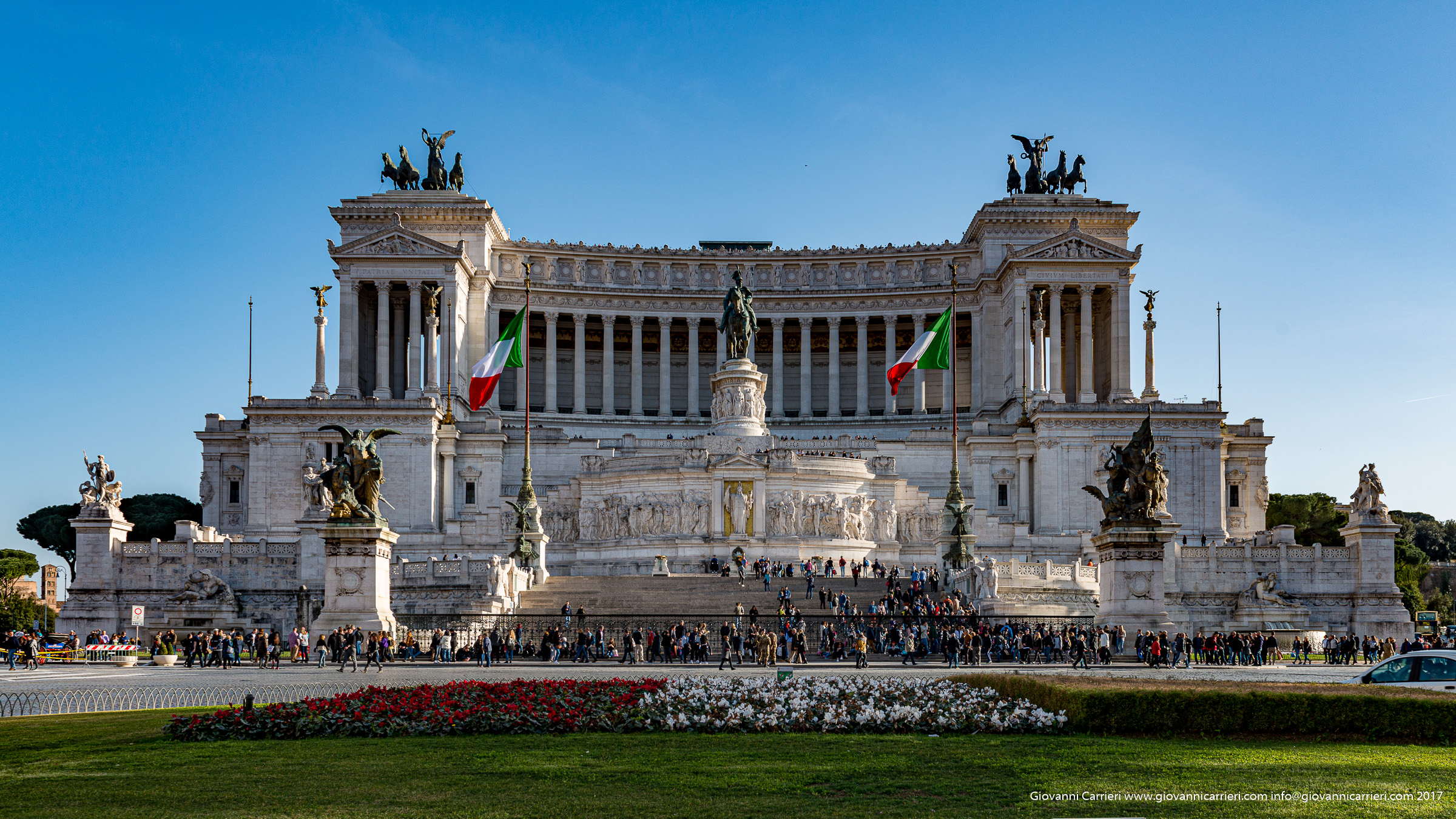 The Vittoriano and the altar of the motherland - Rome