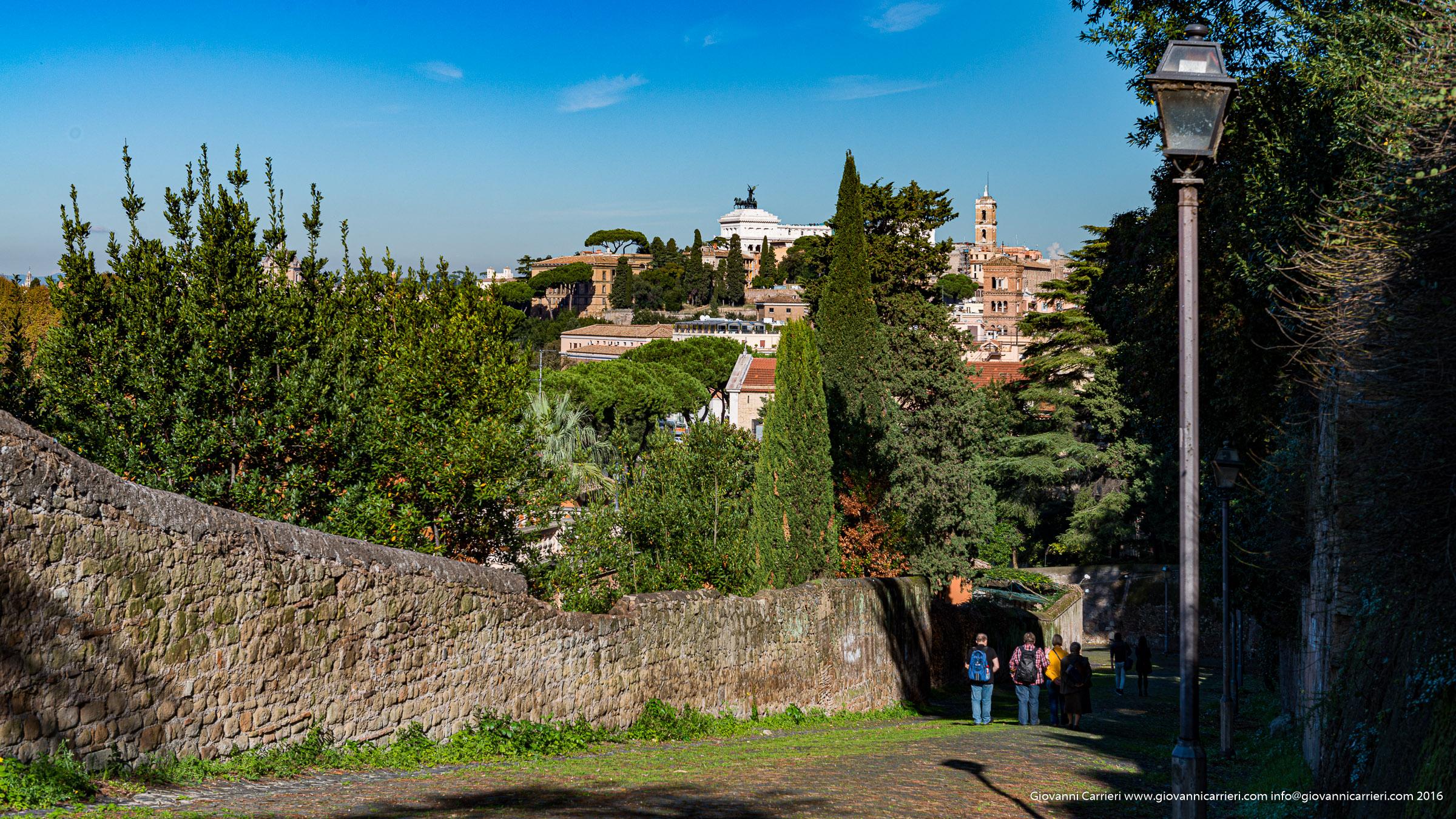 Il Clivio di Rocca Savella sull'Aventino - Roma