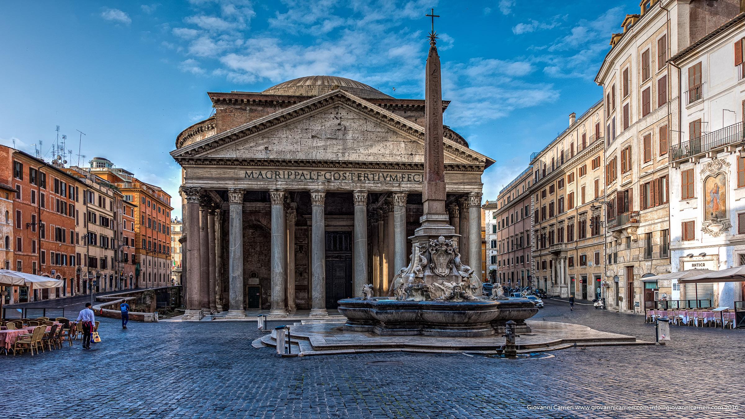 Piazza della Rotonda ed il Pantheon