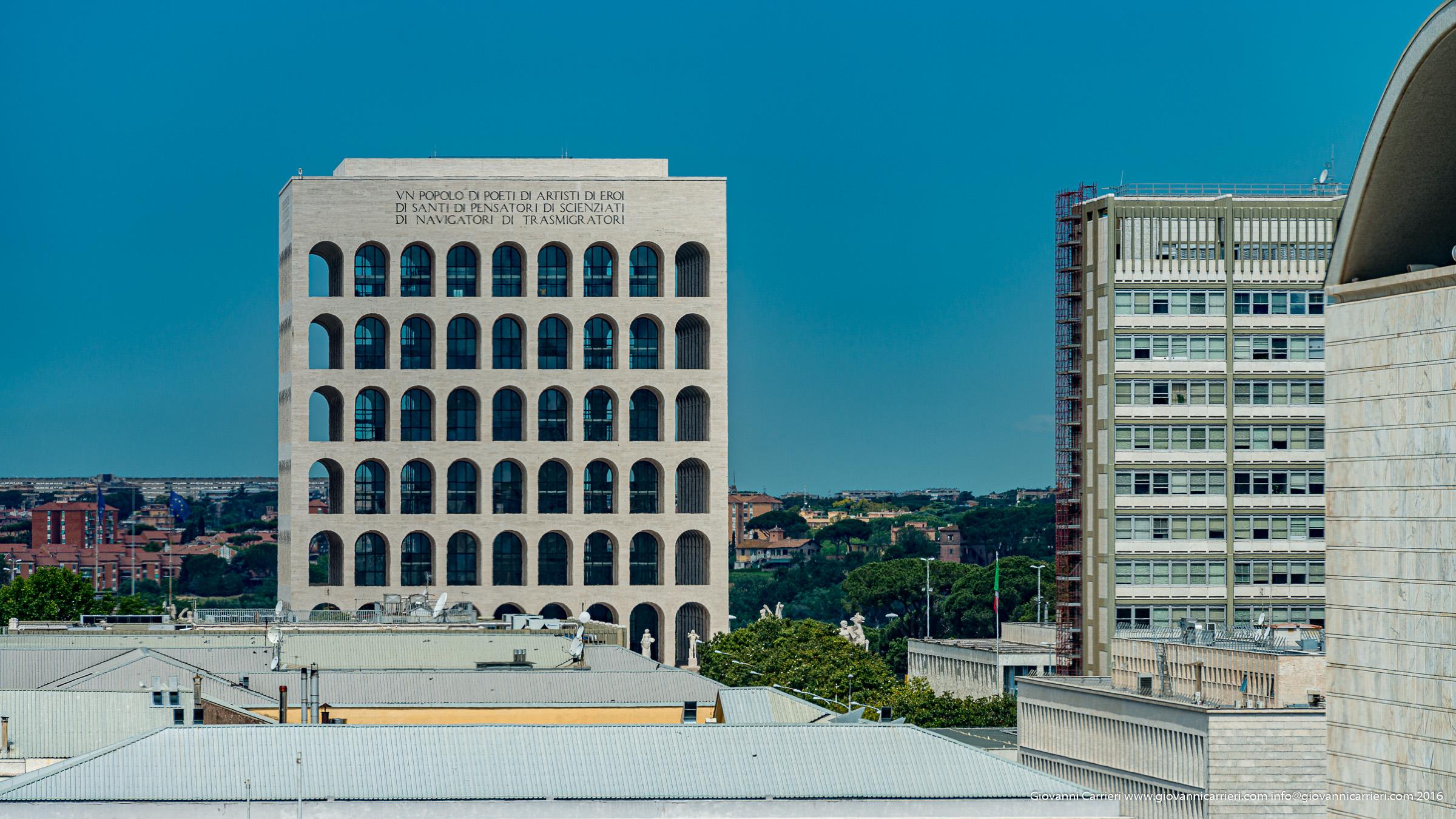 Palazzo della Civiltà Italiana, o Colosseo Quadrato