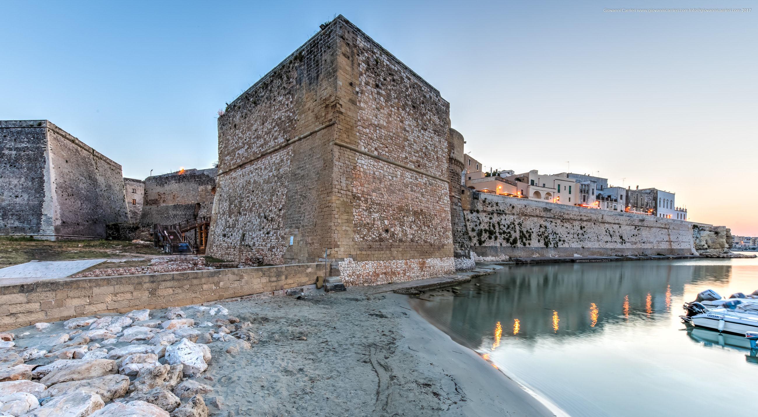 I bastioni del Castello di Otranto