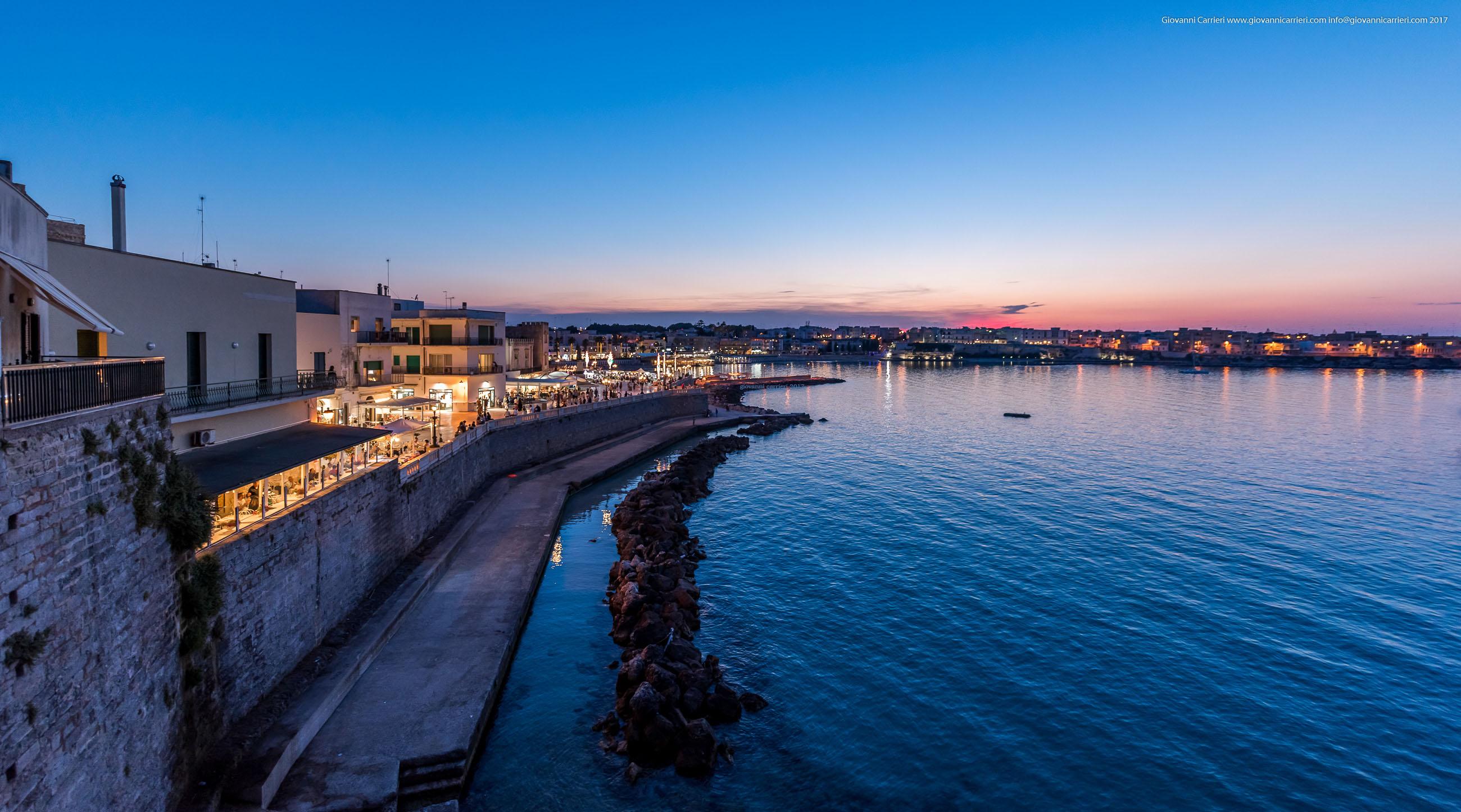 Le mura difensive di Otranto