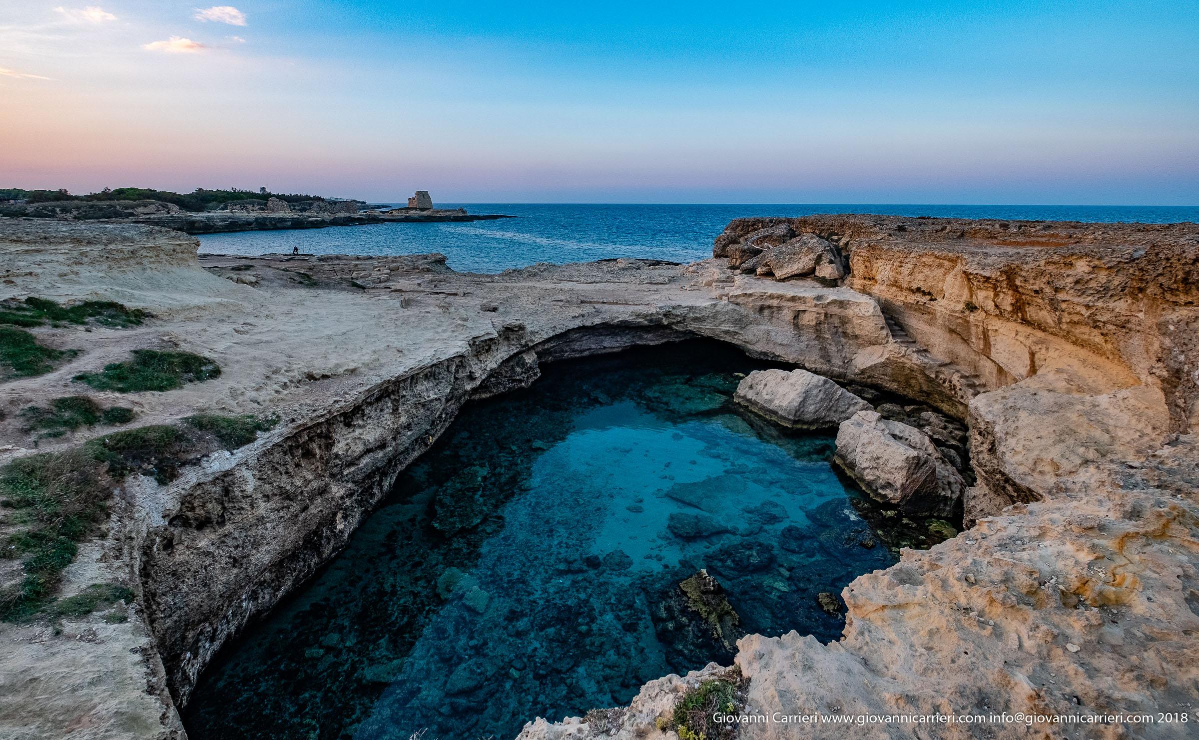 Il Panorama di Roca Vecchia e grotta della Poesia