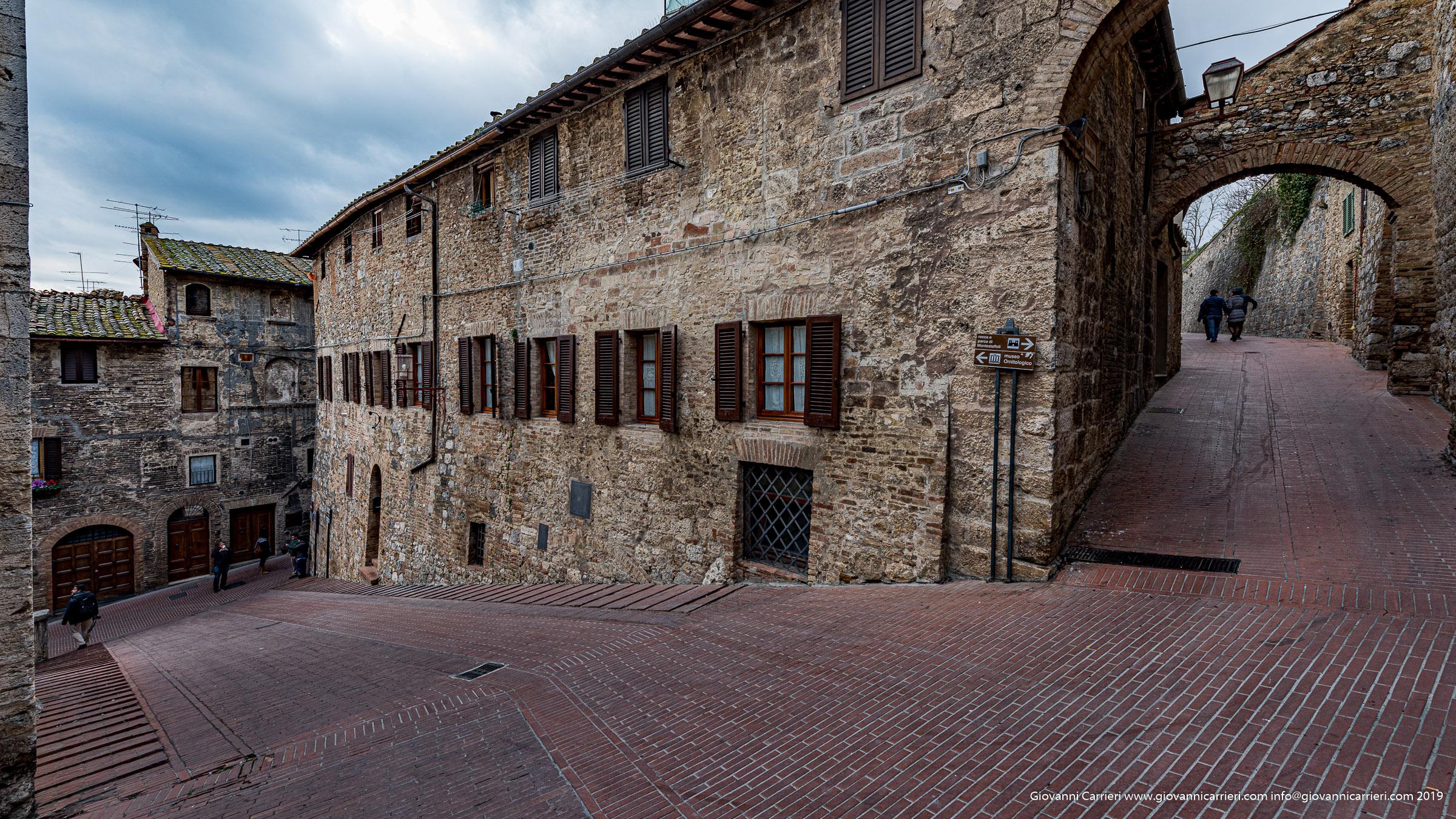 The historical centre of San Gimignano