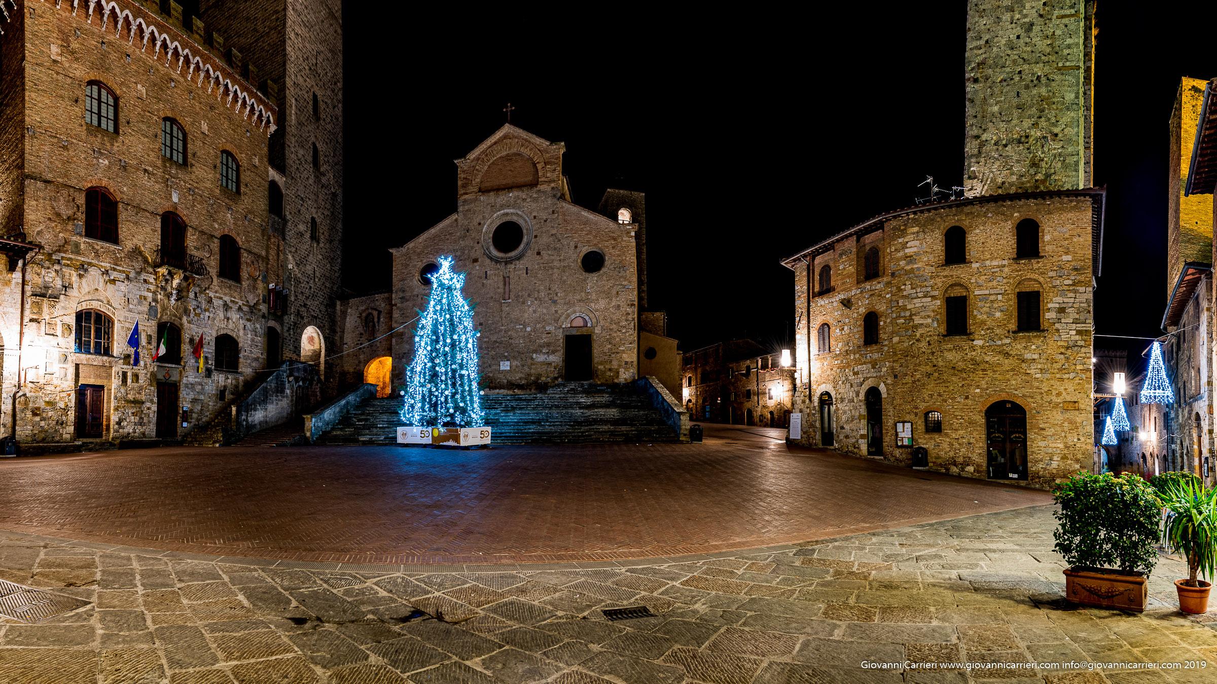 Piazza duomo di San Gimignano