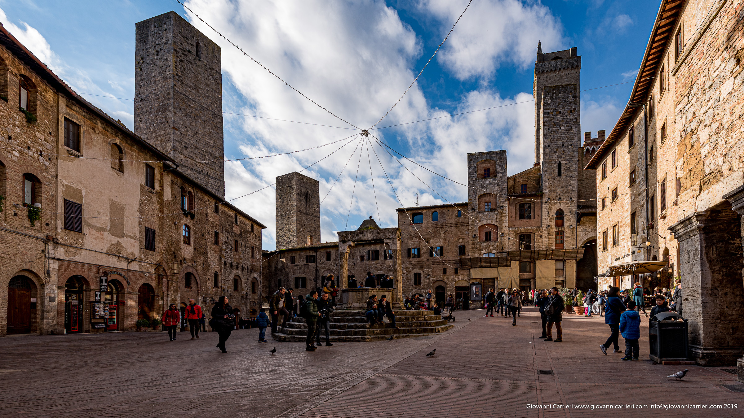 Photographs of San Gimignano
