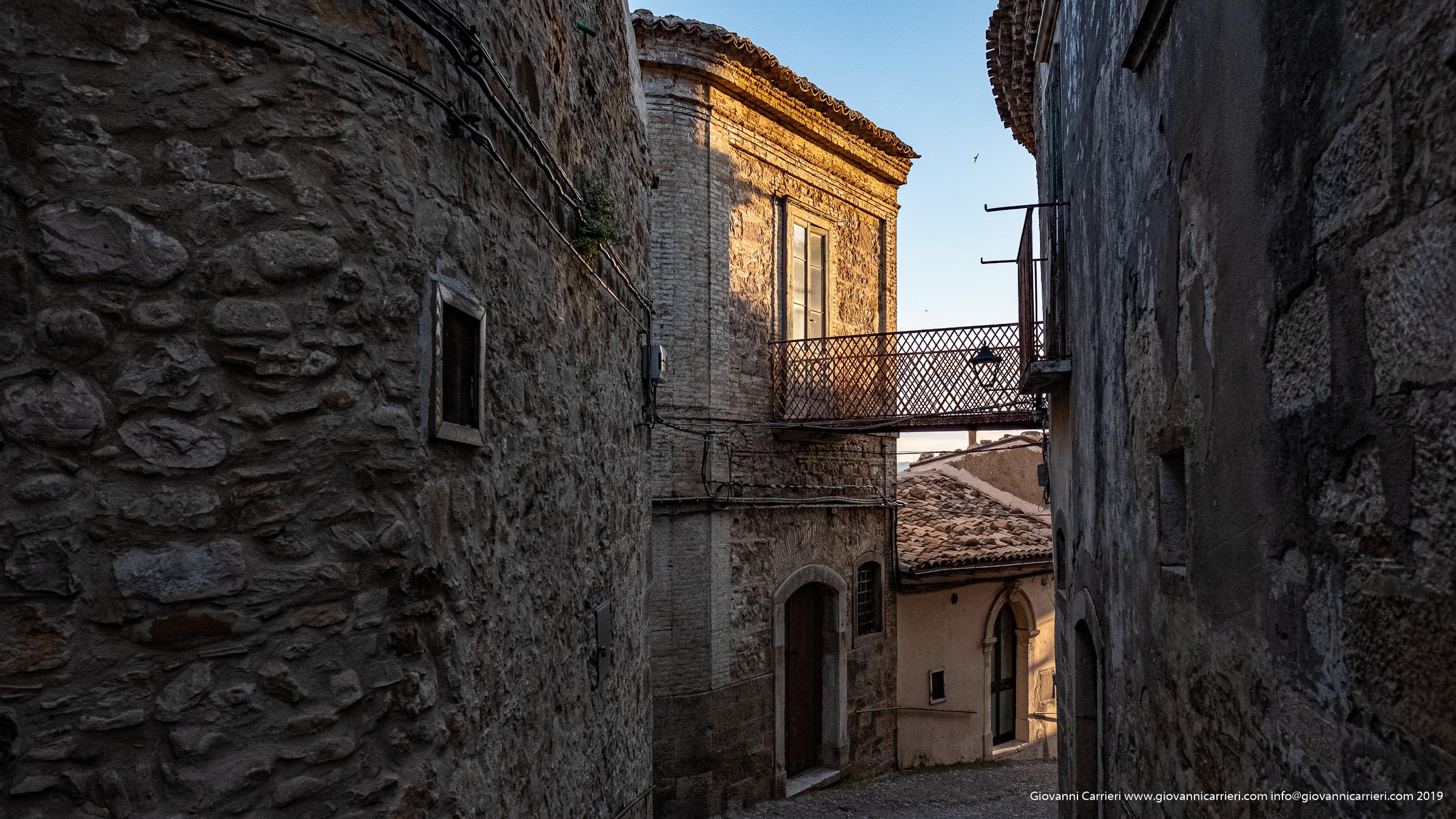 Scorcio del centro storico di Sant'Agata di Puglia