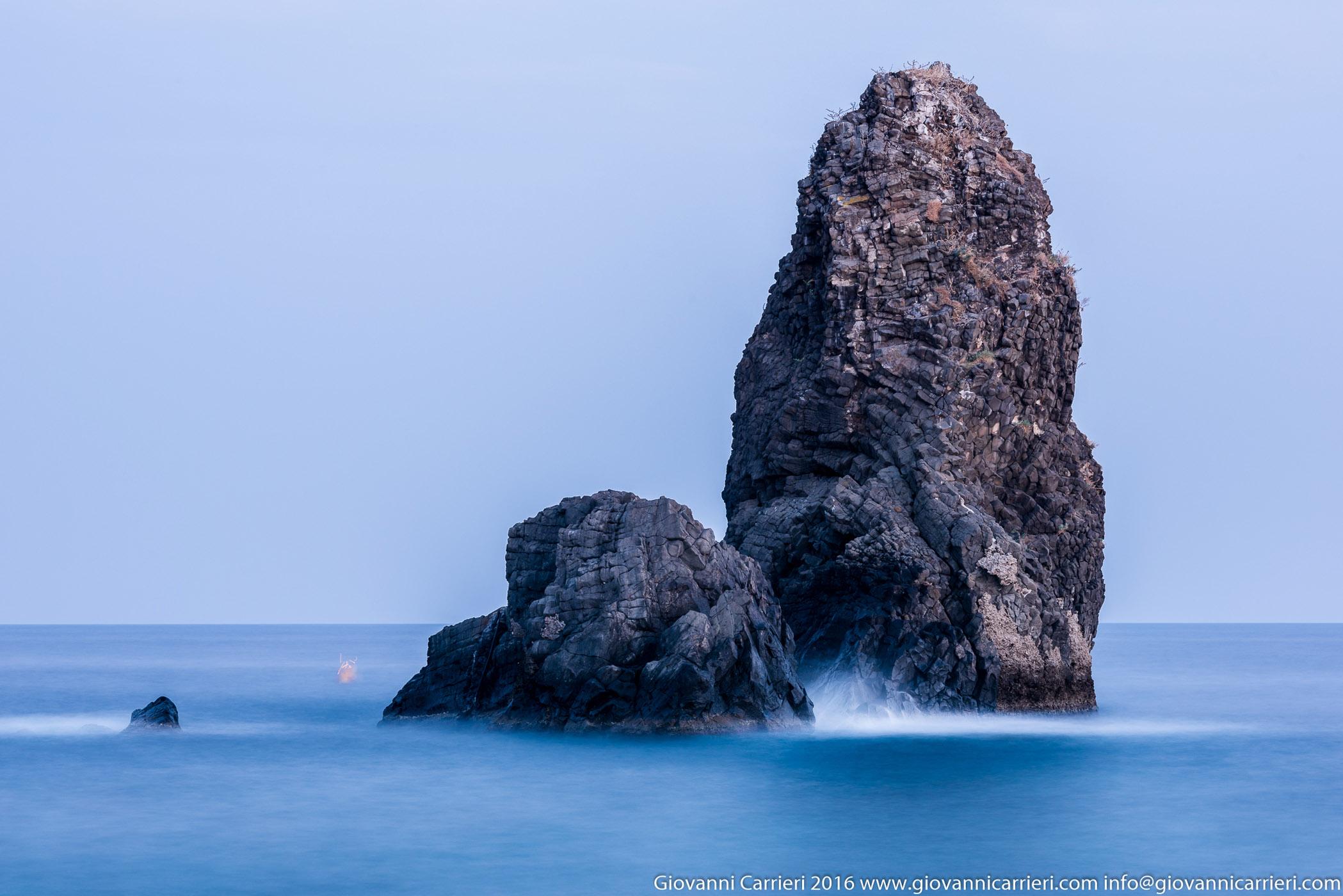 Aci Trezza ed il Mar Ionio