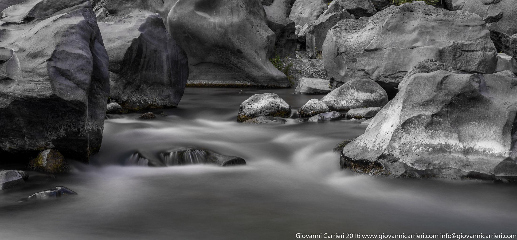 Le rocce del'Alcantara