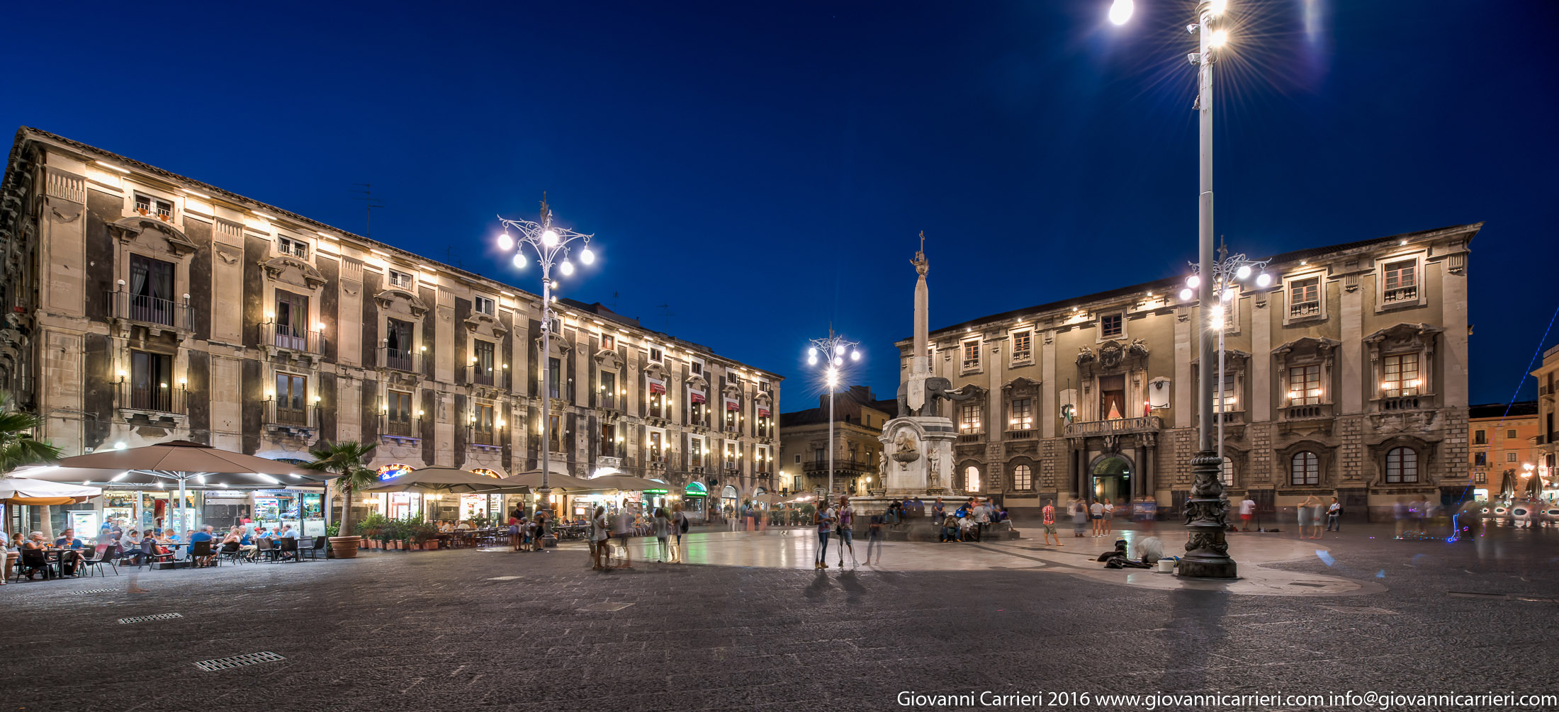 Cathedral square in Catania