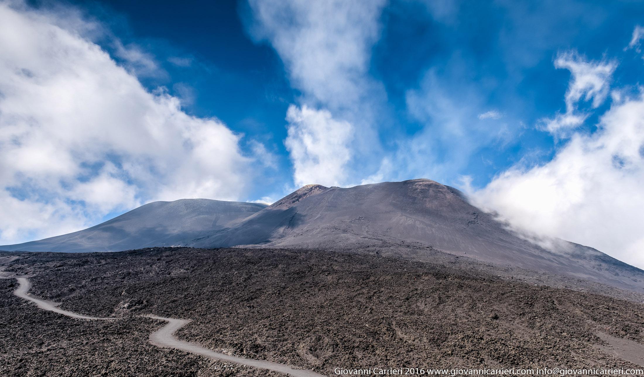 La vetta dell'Etna