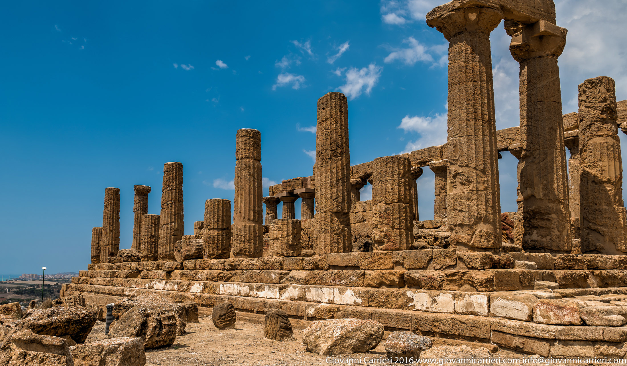 The temple of Juno in Valley of the Temples