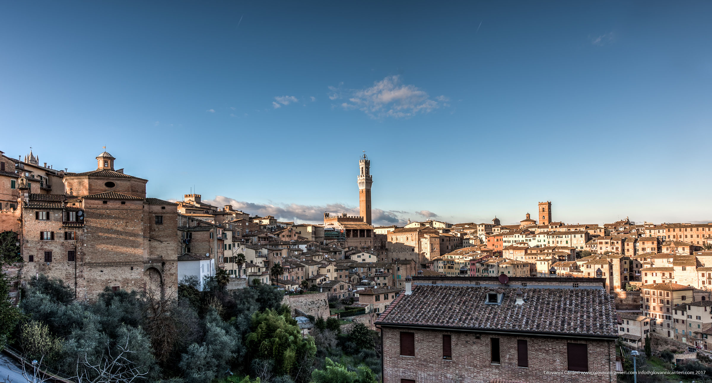 Photographs of Siena