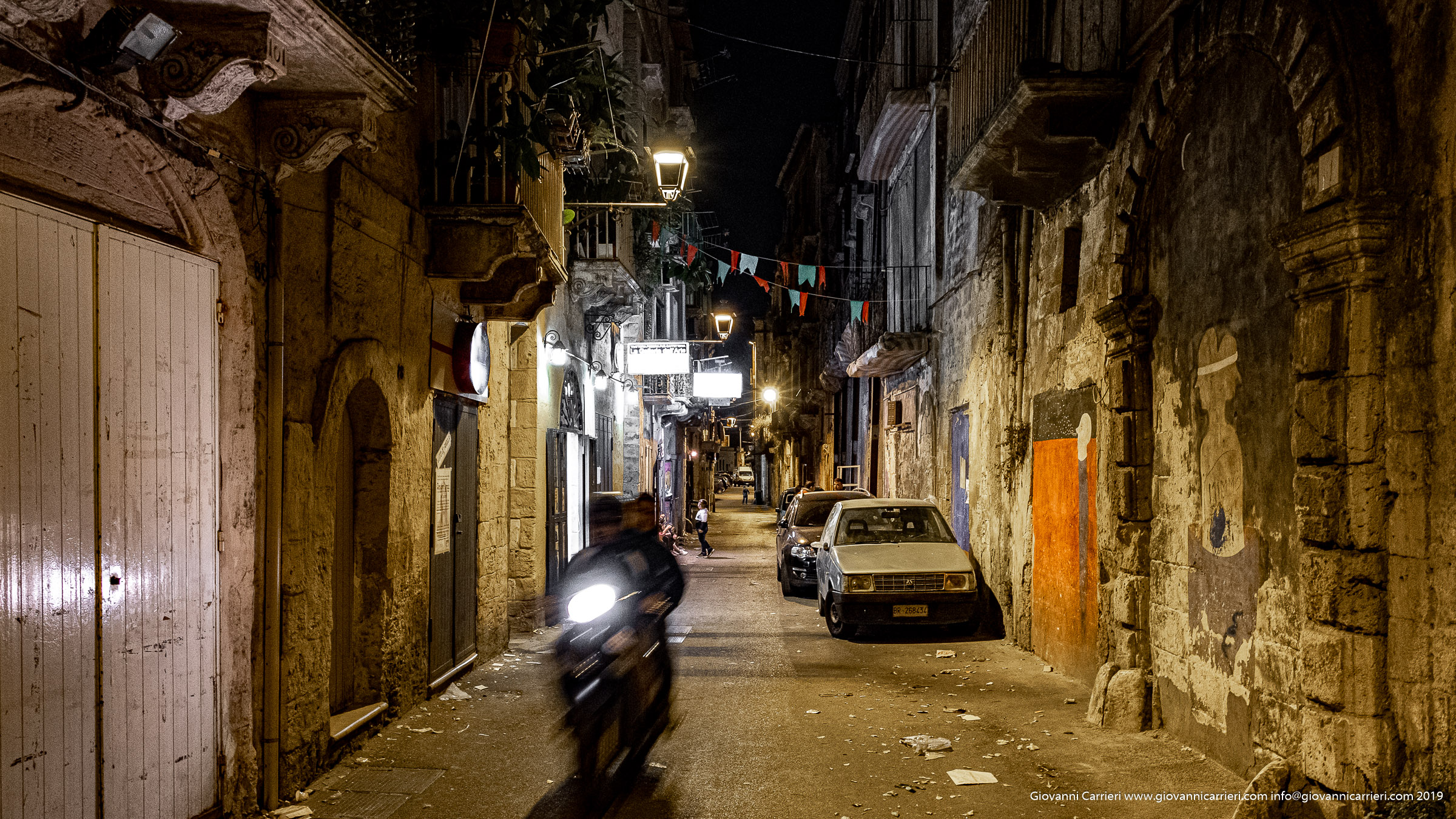 Le strade della città vecchia