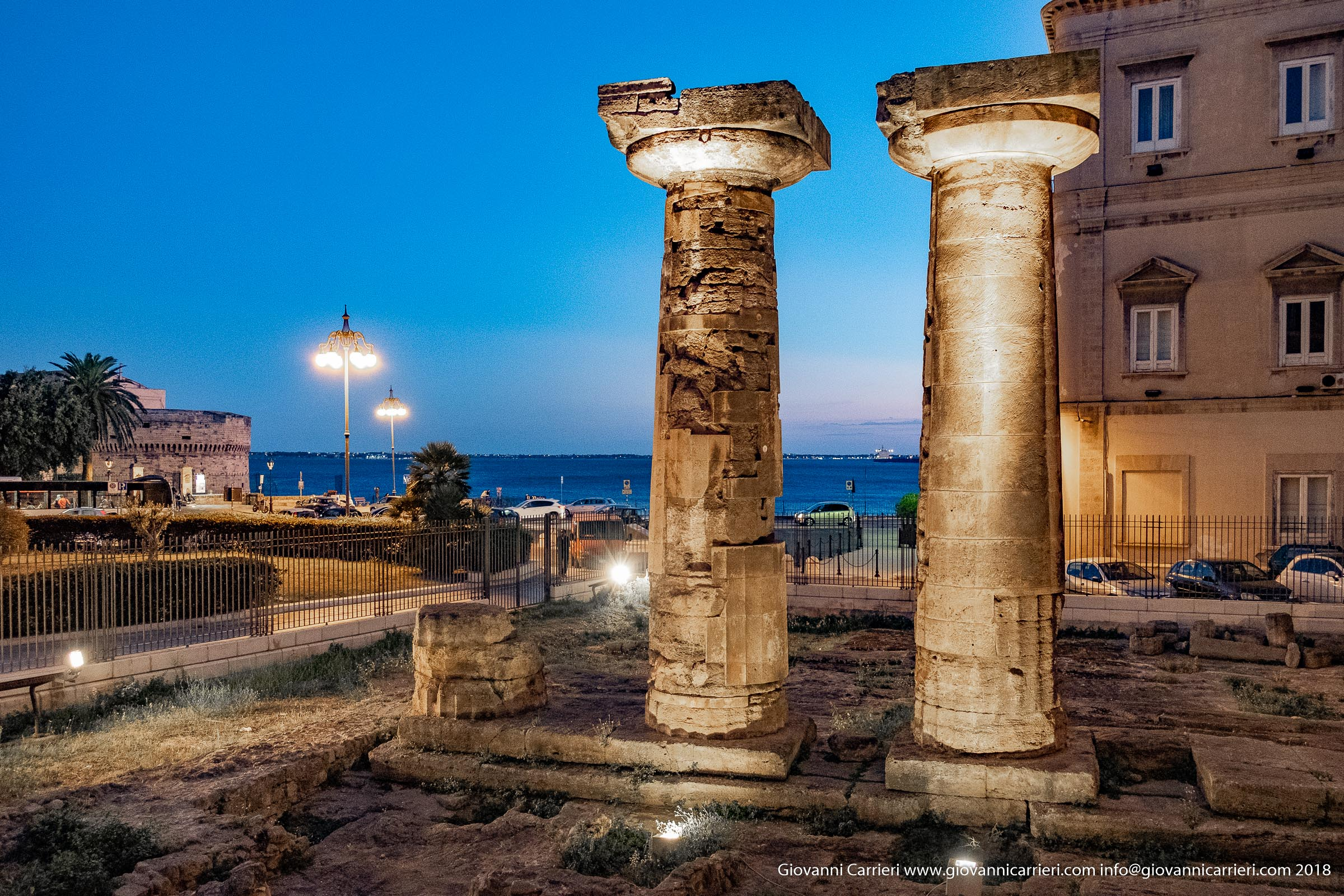 The Doric temple of Taranto