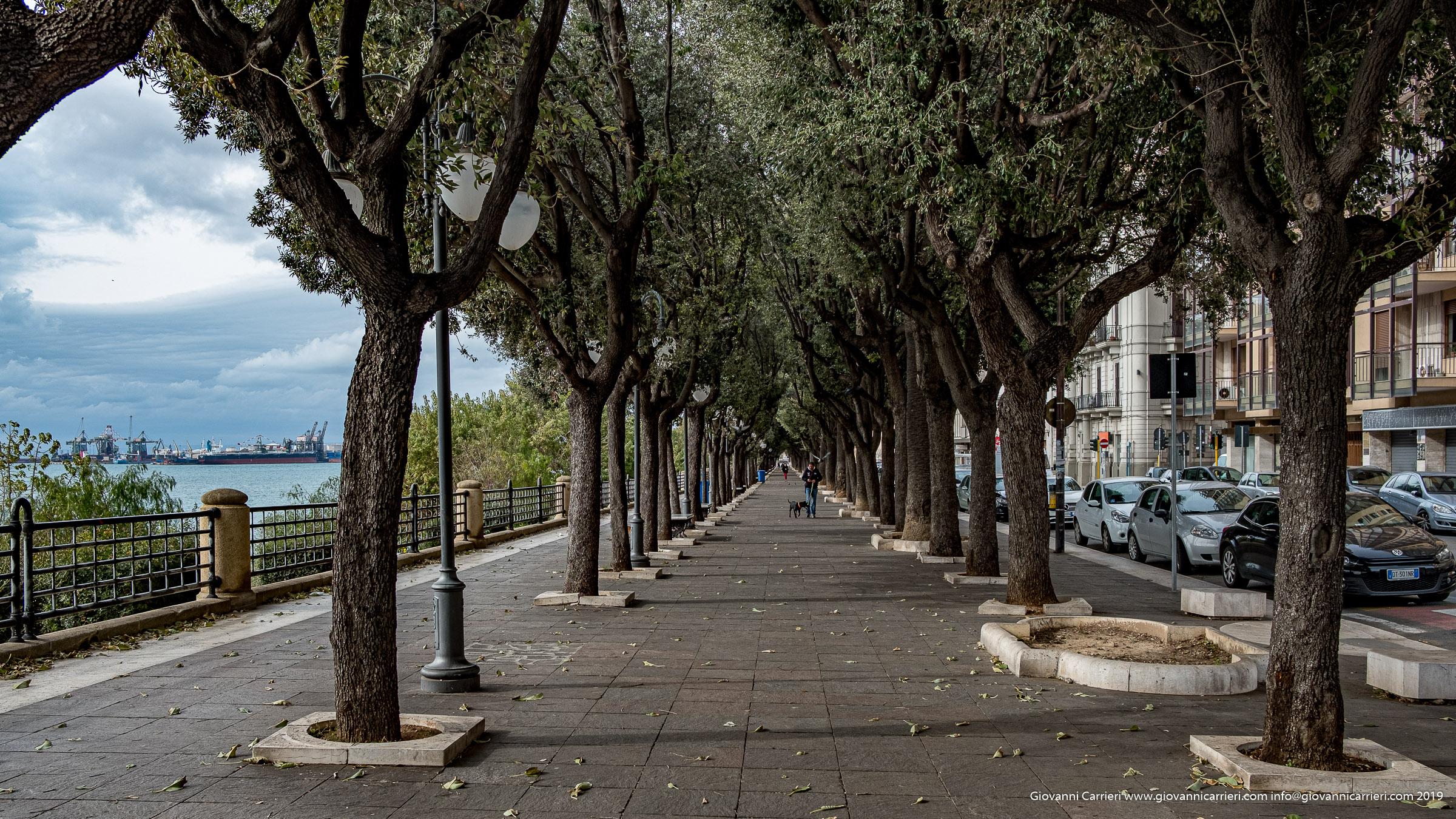 Il lungomare di Viale Virgilio - Taranto