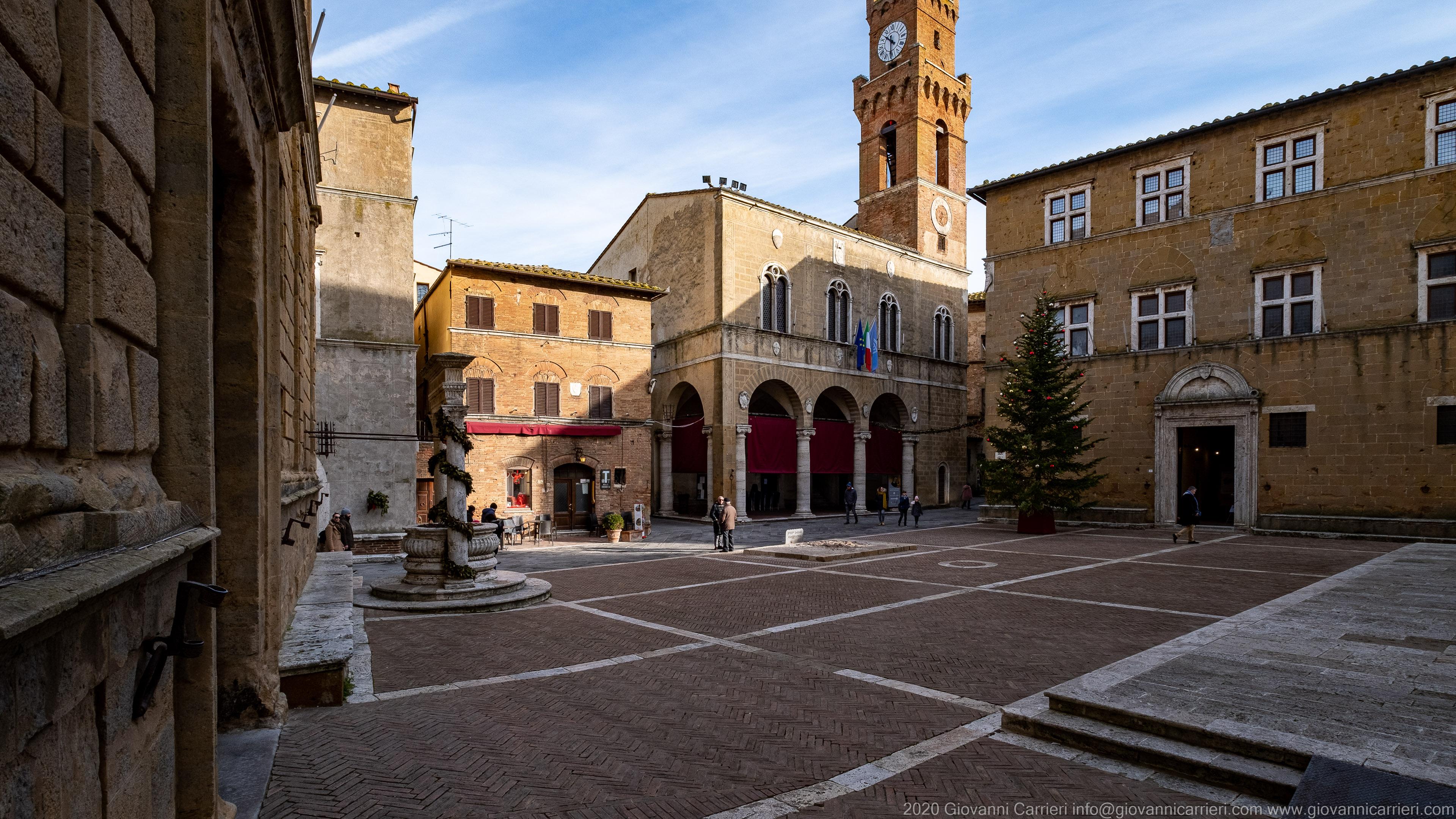 Il Palazzo Comunale di Pienza