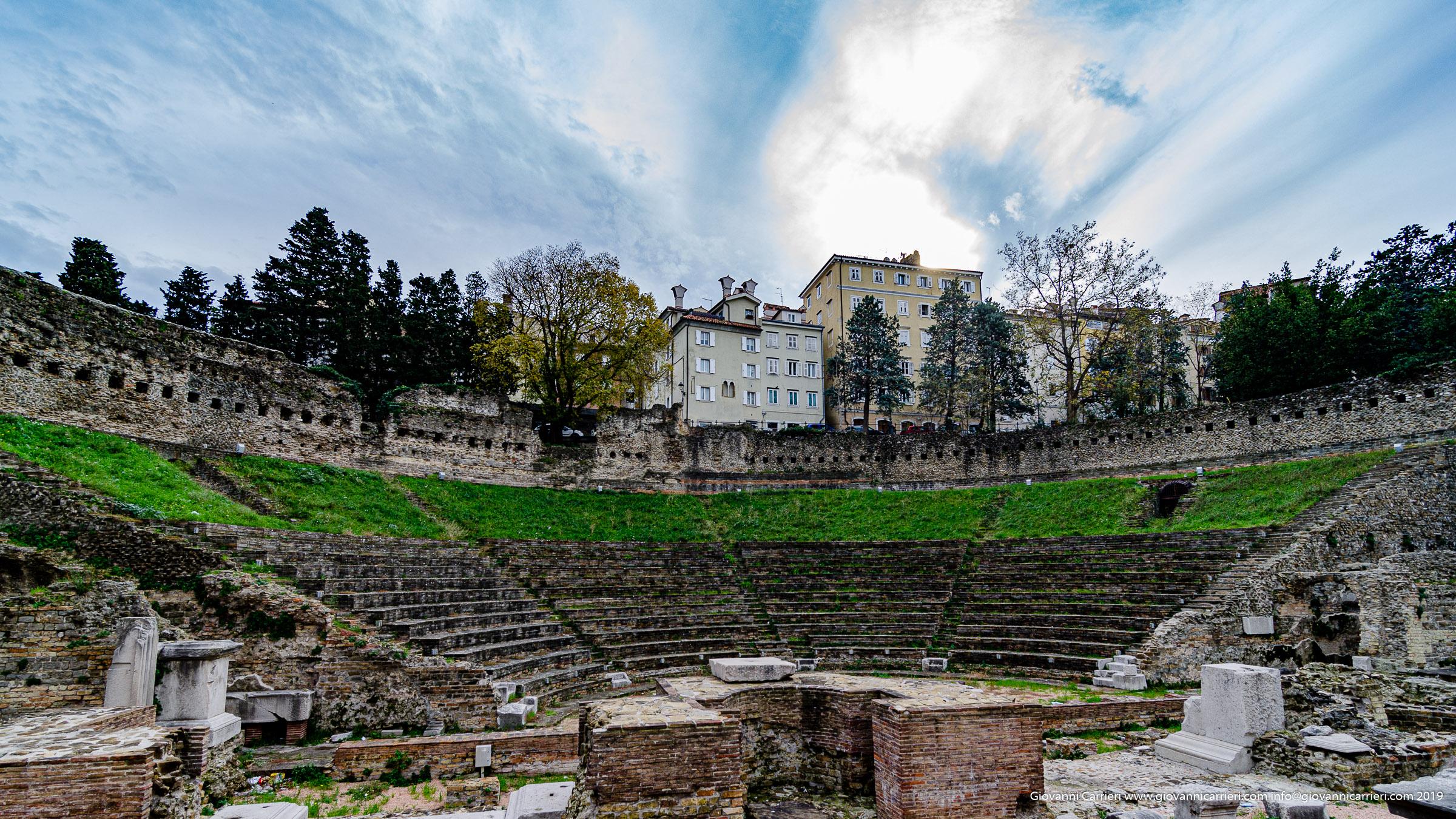 Il teatro romano - Trieste