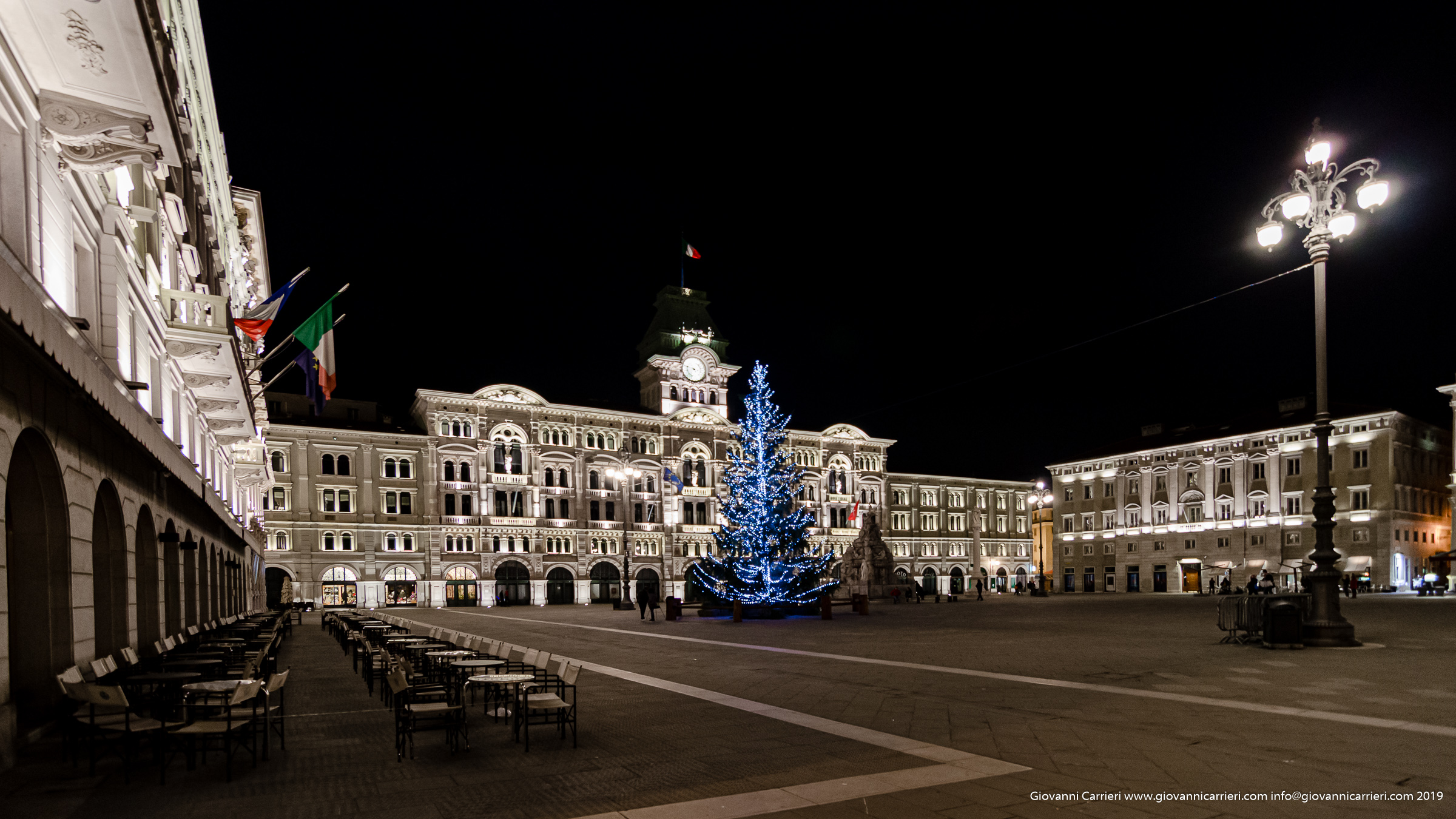 Unification of Italy square and the city hall- Trieste