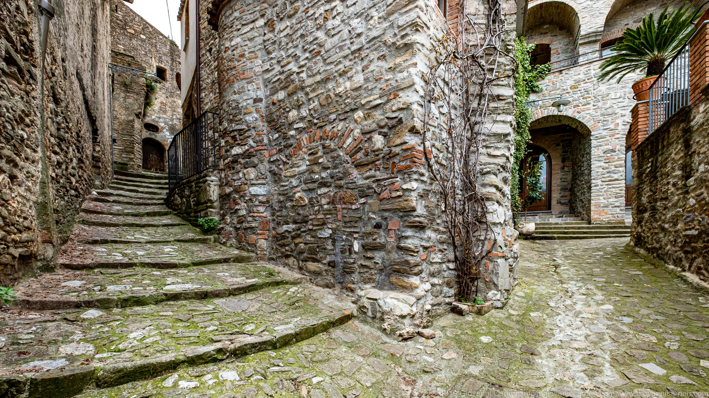 Scorcio del borgo Rabatana