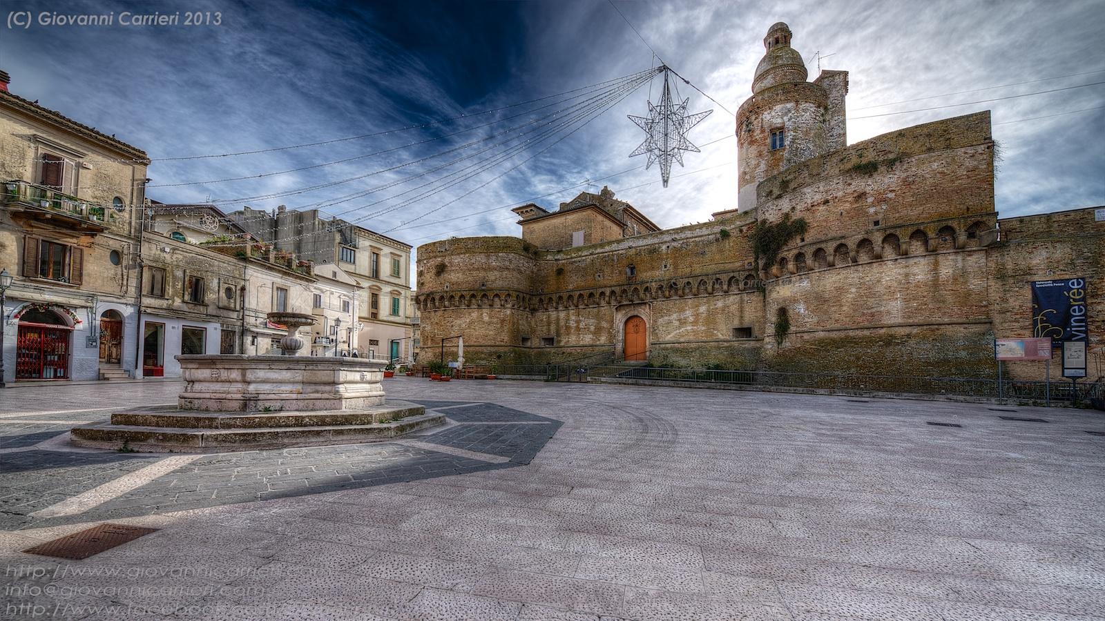 Il castello Caldoresco - Vasto Abruzzo