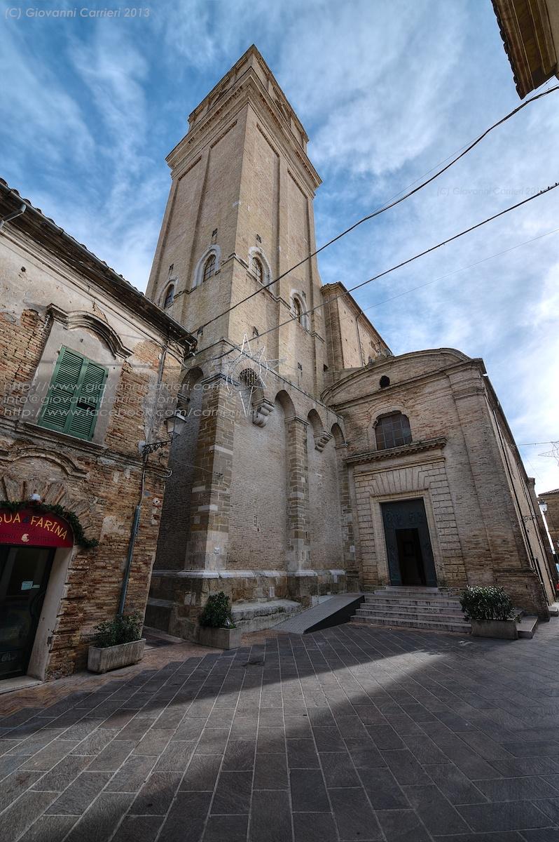 La chiesa Santa Maria Maggiore ed il suo campanile - Vasto Abruzzo
