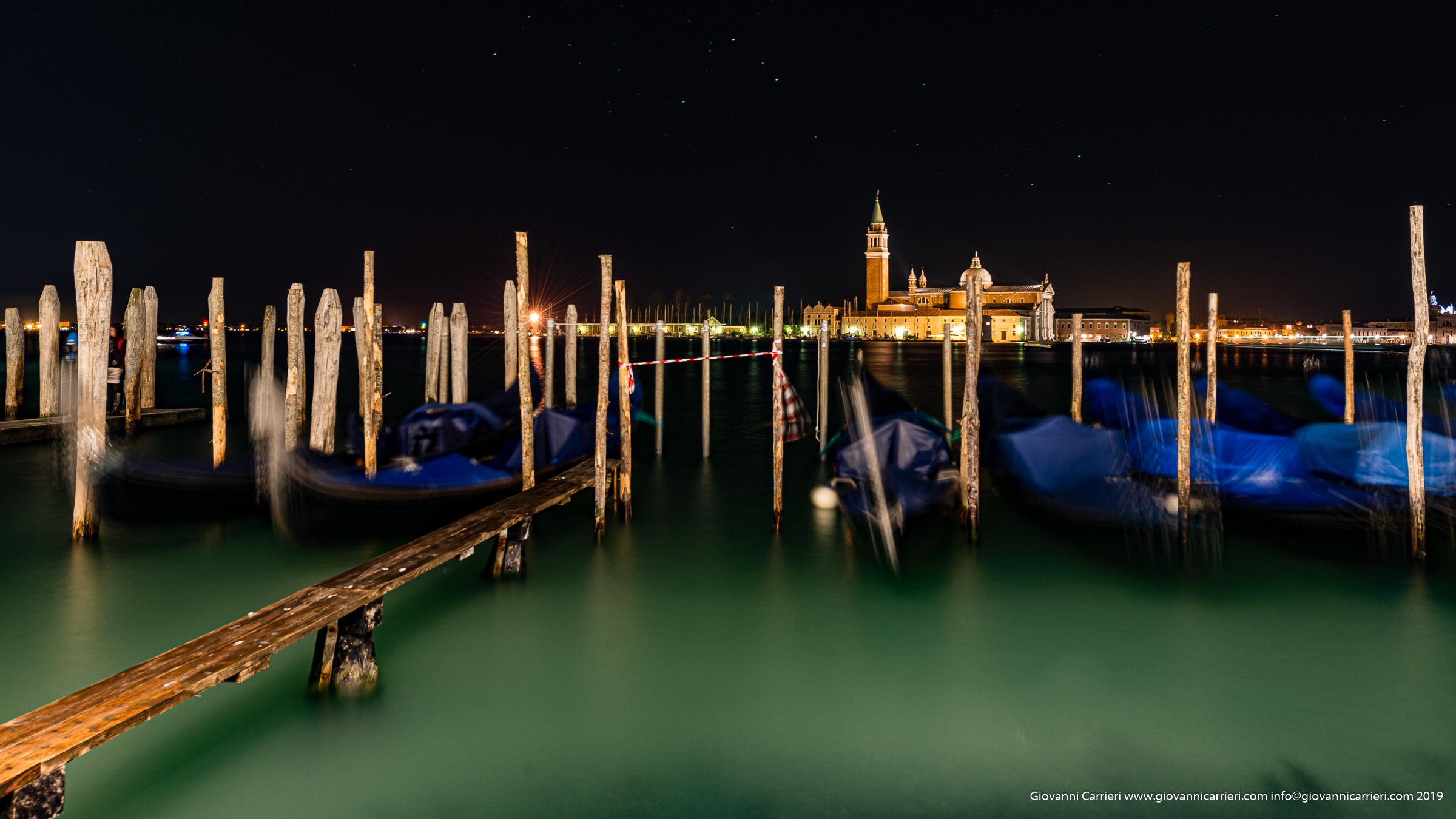 La chiesa di San Giorgio Maggiore vista da Riva degli Schiavoni - Venezia