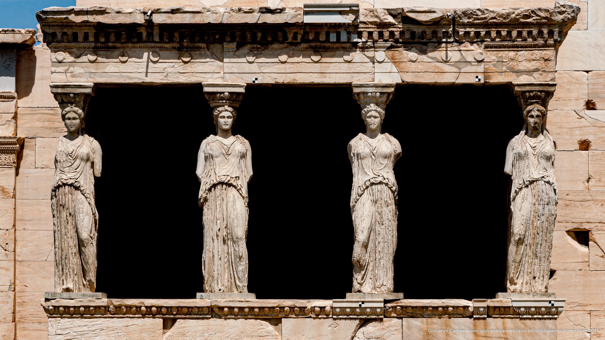loggetta delle Cariatidi - Atene - Grecia