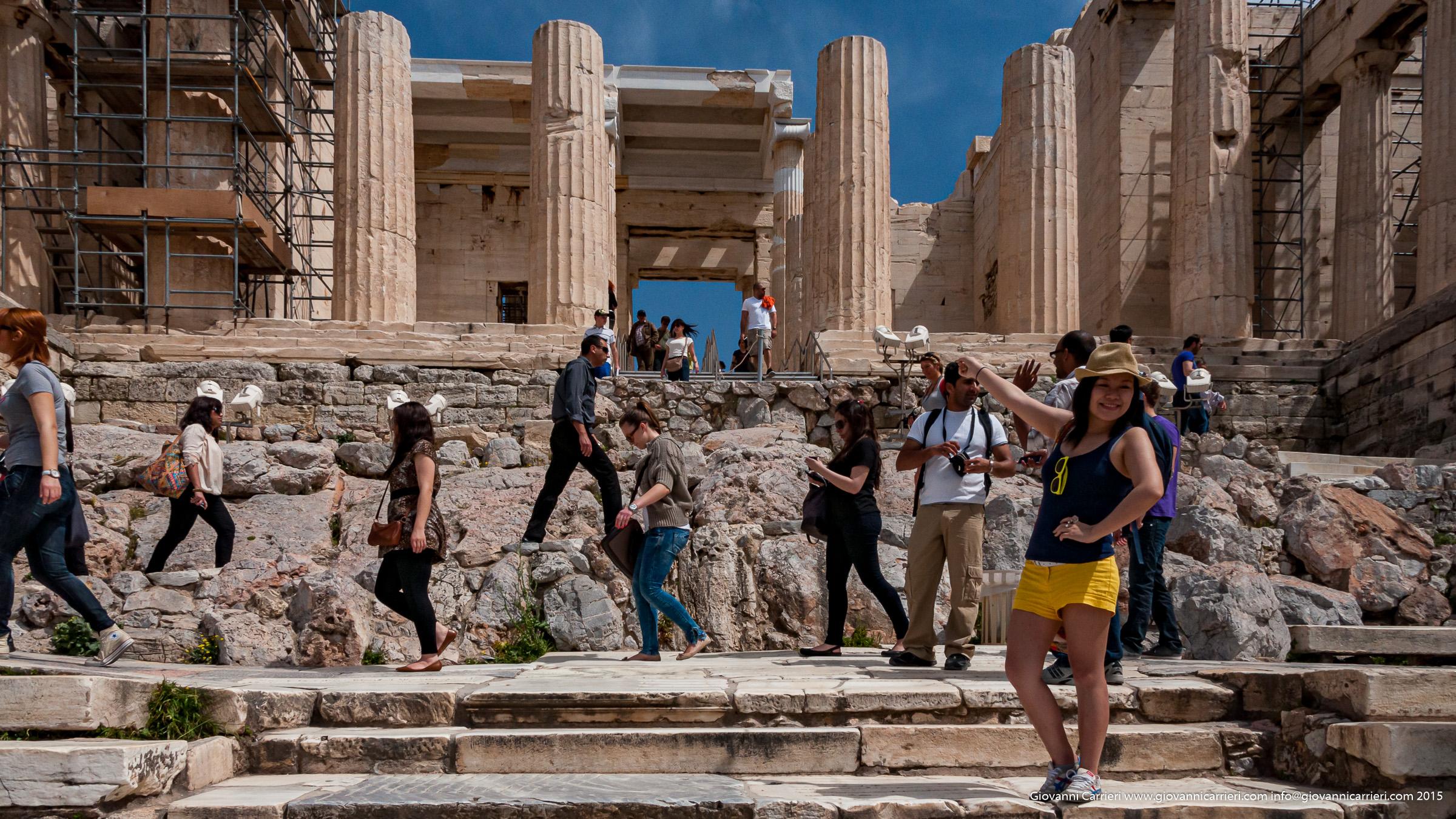 Il Partenone - Atene