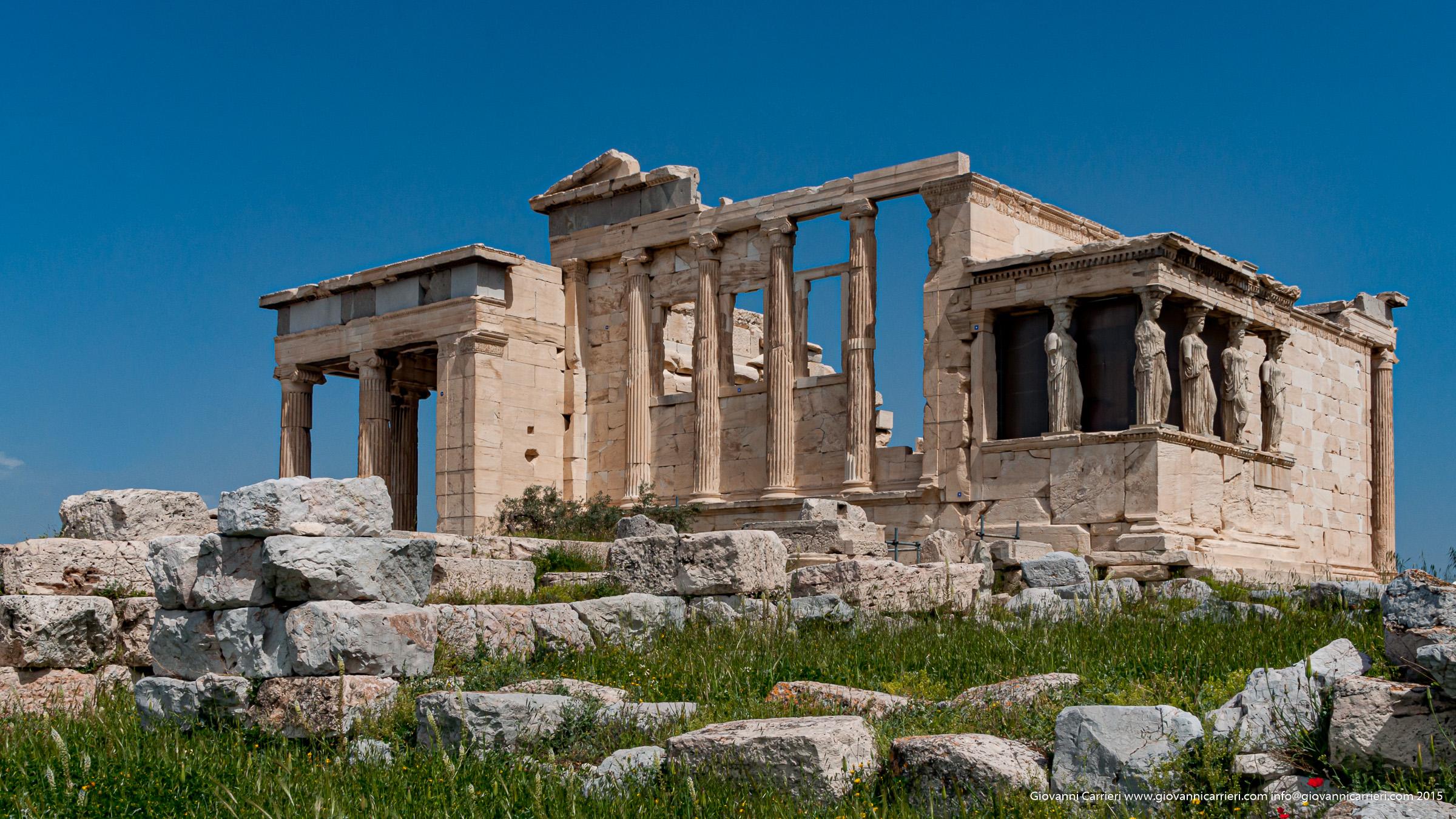 Tempio di Atena Poliàs, Eretteo