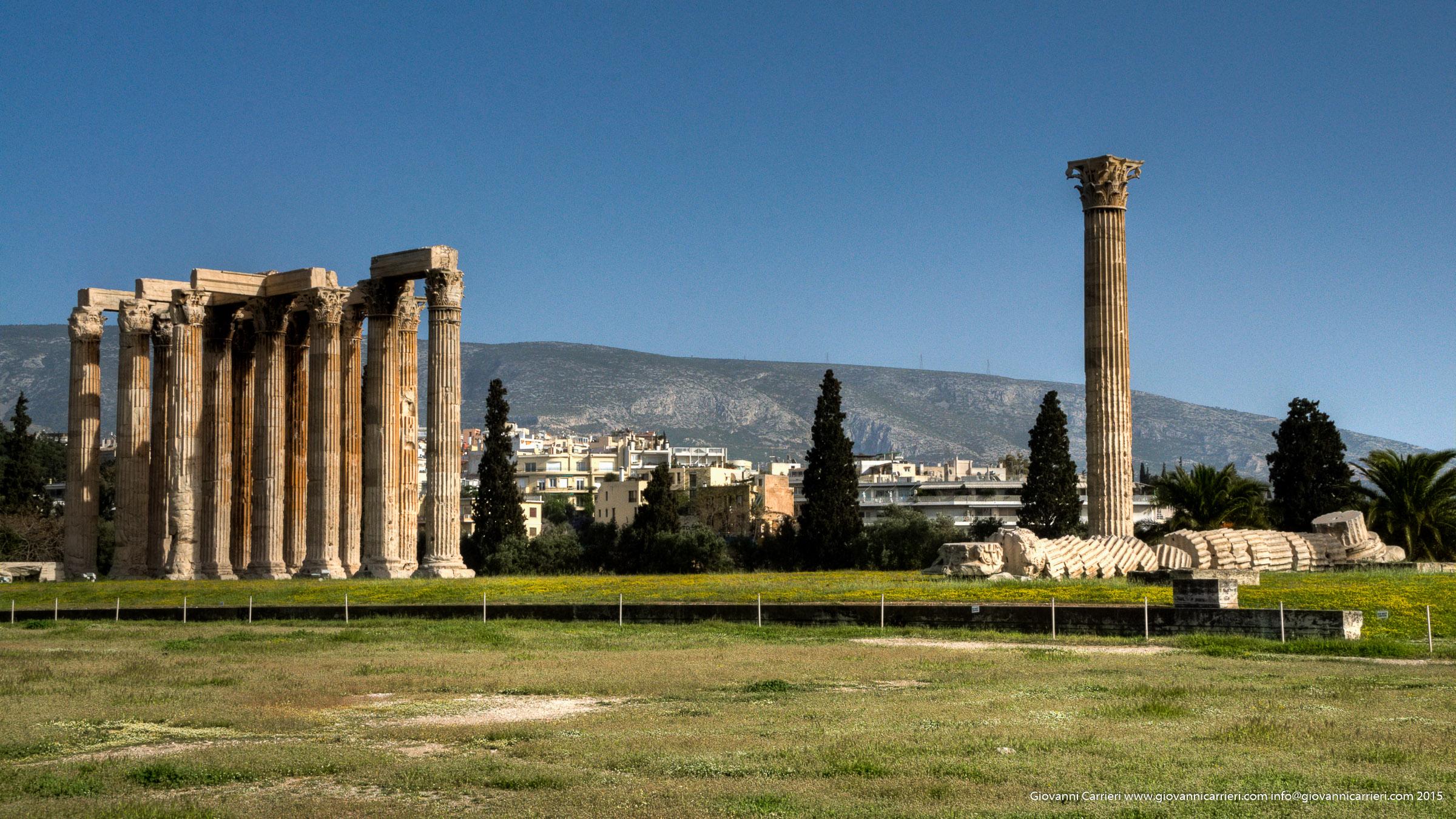 Tempio di Zeus Olimpio - Atene