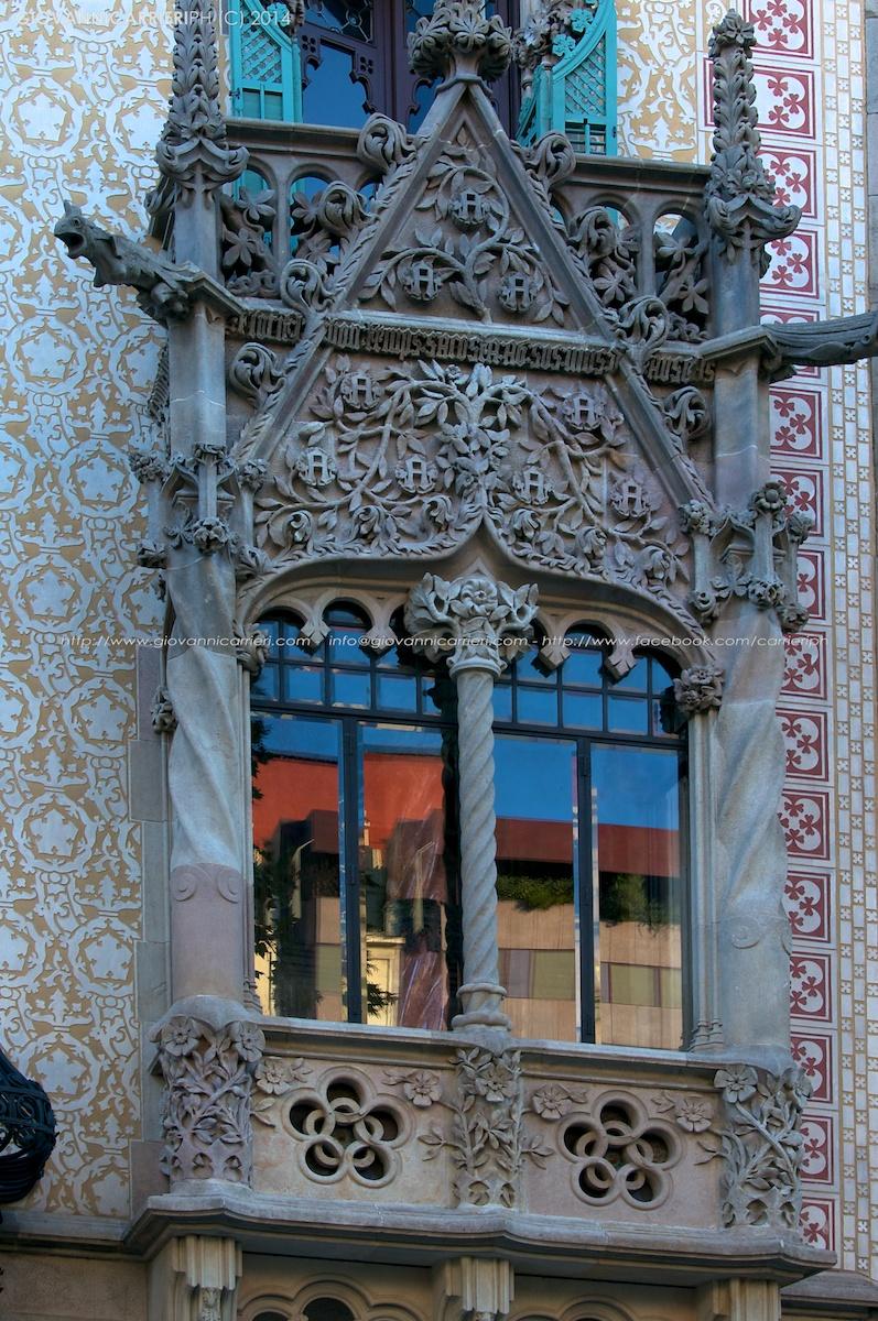 Il balcone di Casa Amatller